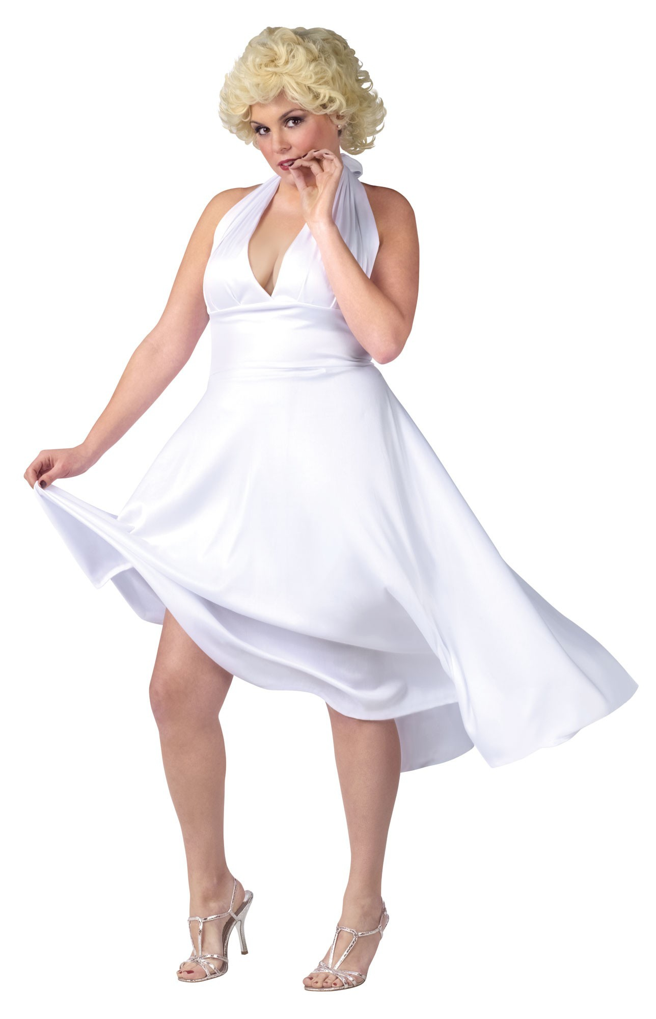 womens deluxe plus size marilyn monroe costume mr costumes. Black Bedroom Furniture Sets. Home Design Ideas