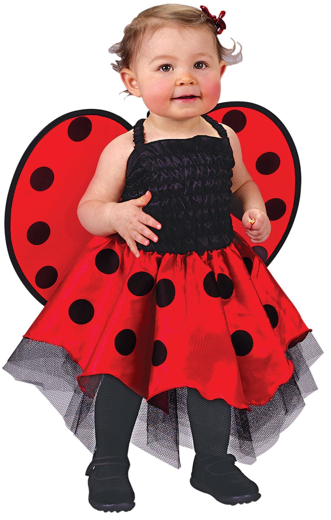Baby Girl Ladybug Halloween Costume