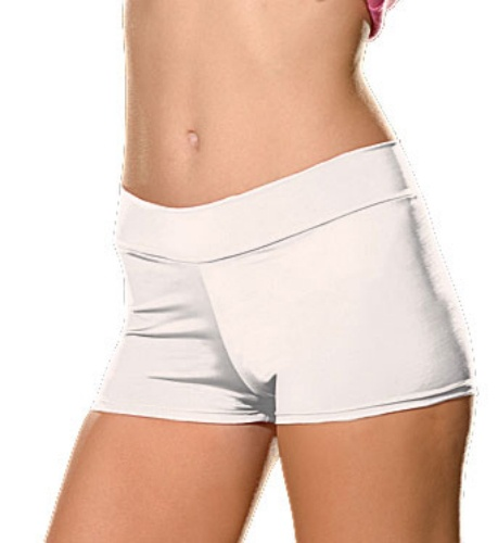 Dreamgirl White Roxie Hot Short