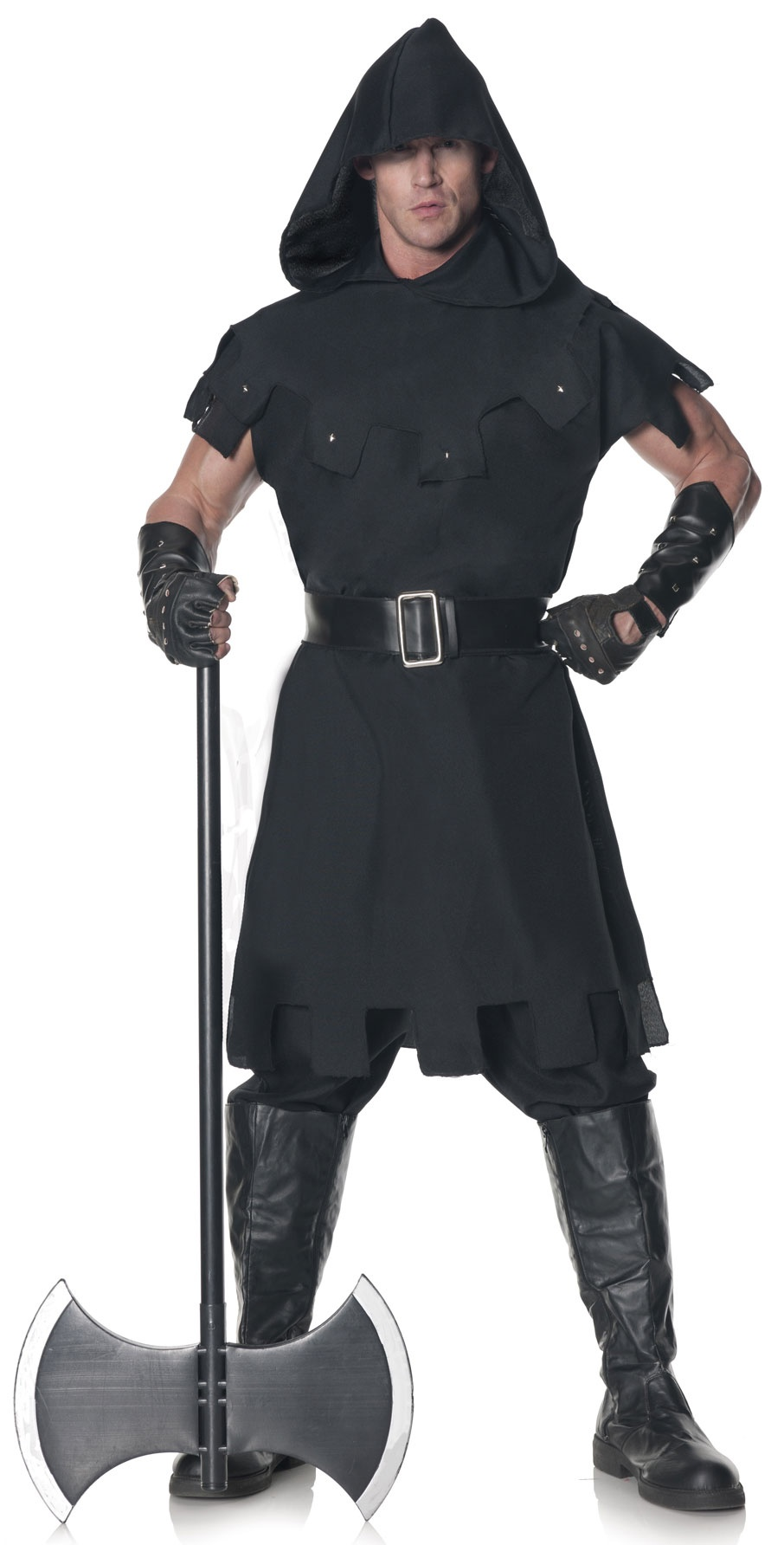 Hooded Medieval Executioner Adult Costume - Mr. Costumes