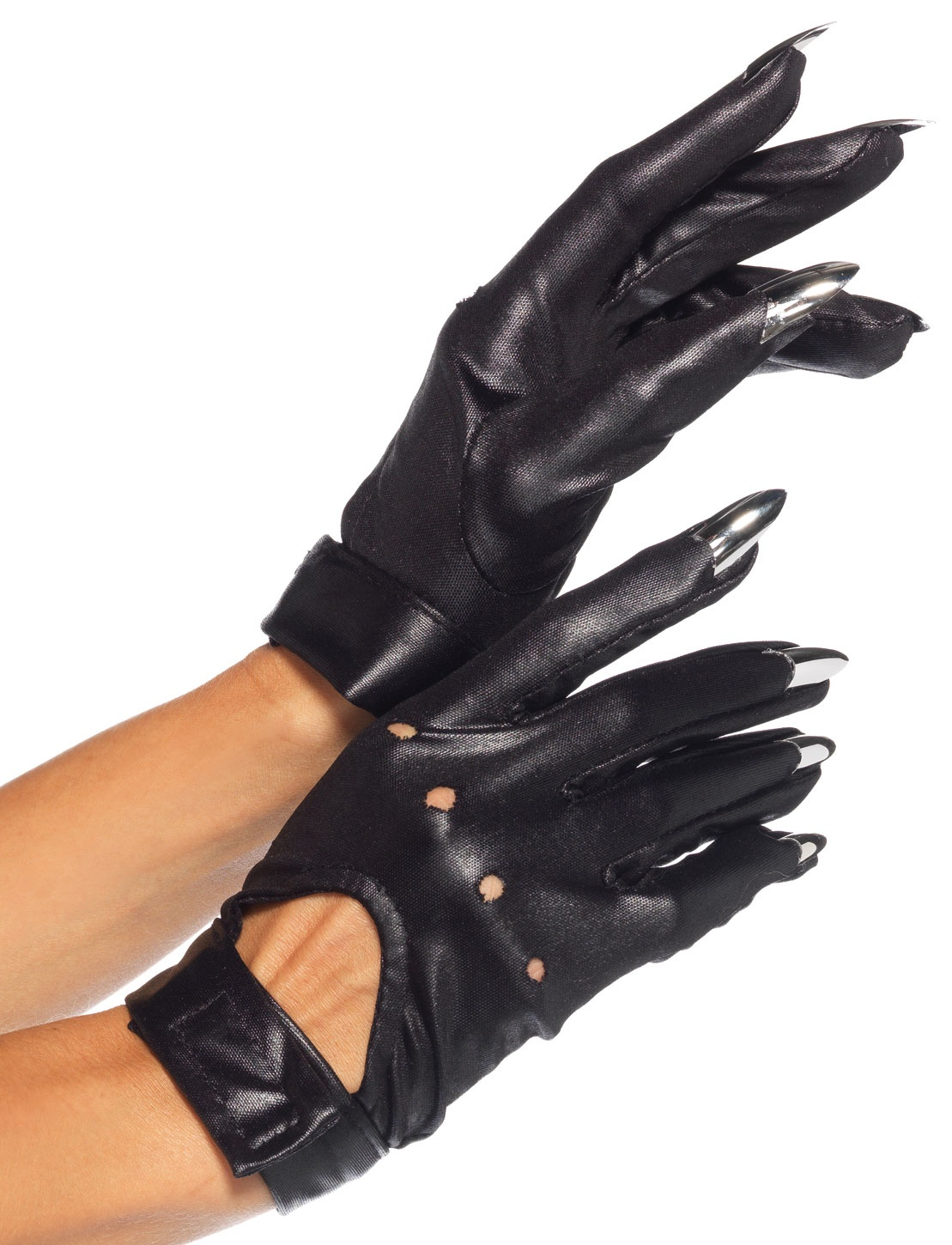 Motorcycle Gloves With Claw Fingers Mr Costumes