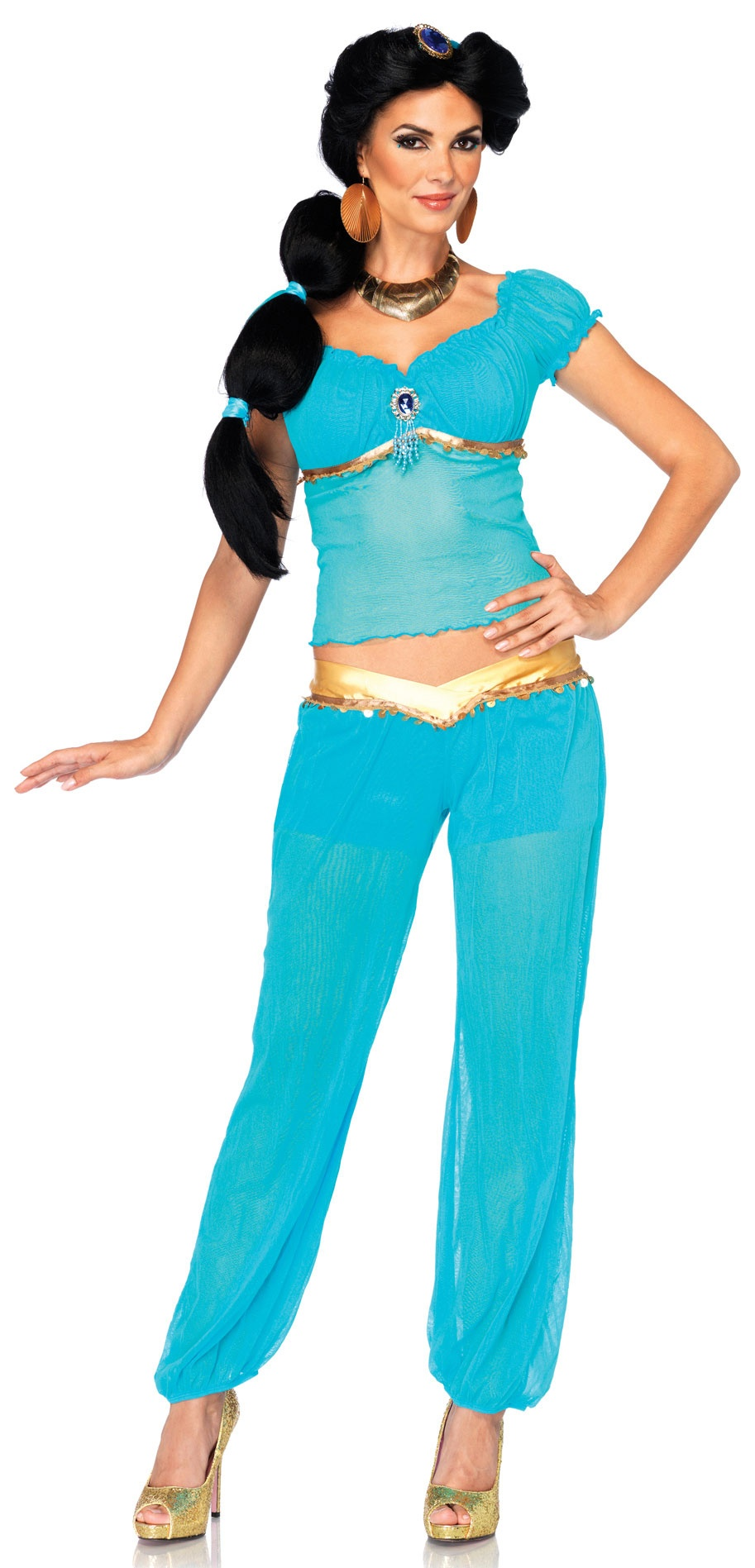 disney princess jasmine adult costume mr costumes. Black Bedroom Furniture Sets. Home Design Ideas