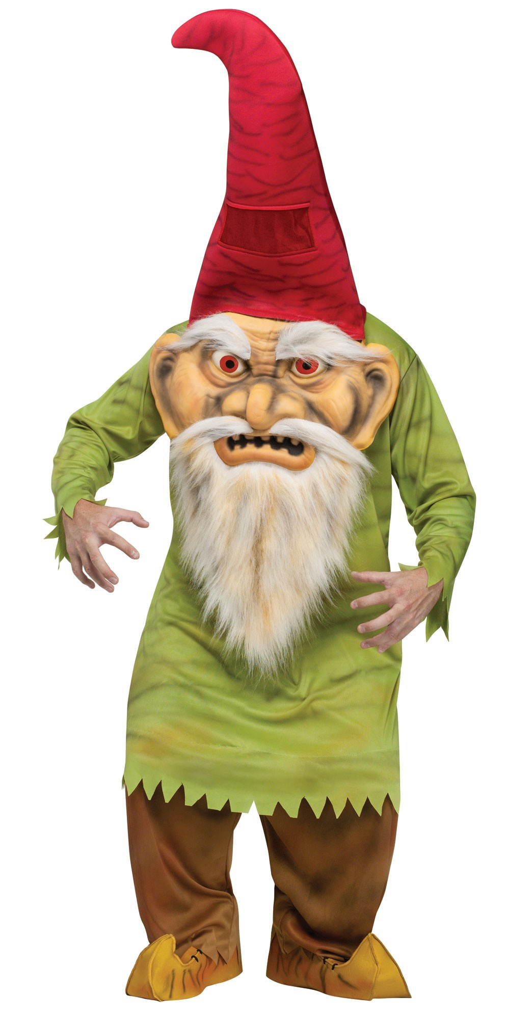 Scary Big Head Gnome Adult Costume Costumes