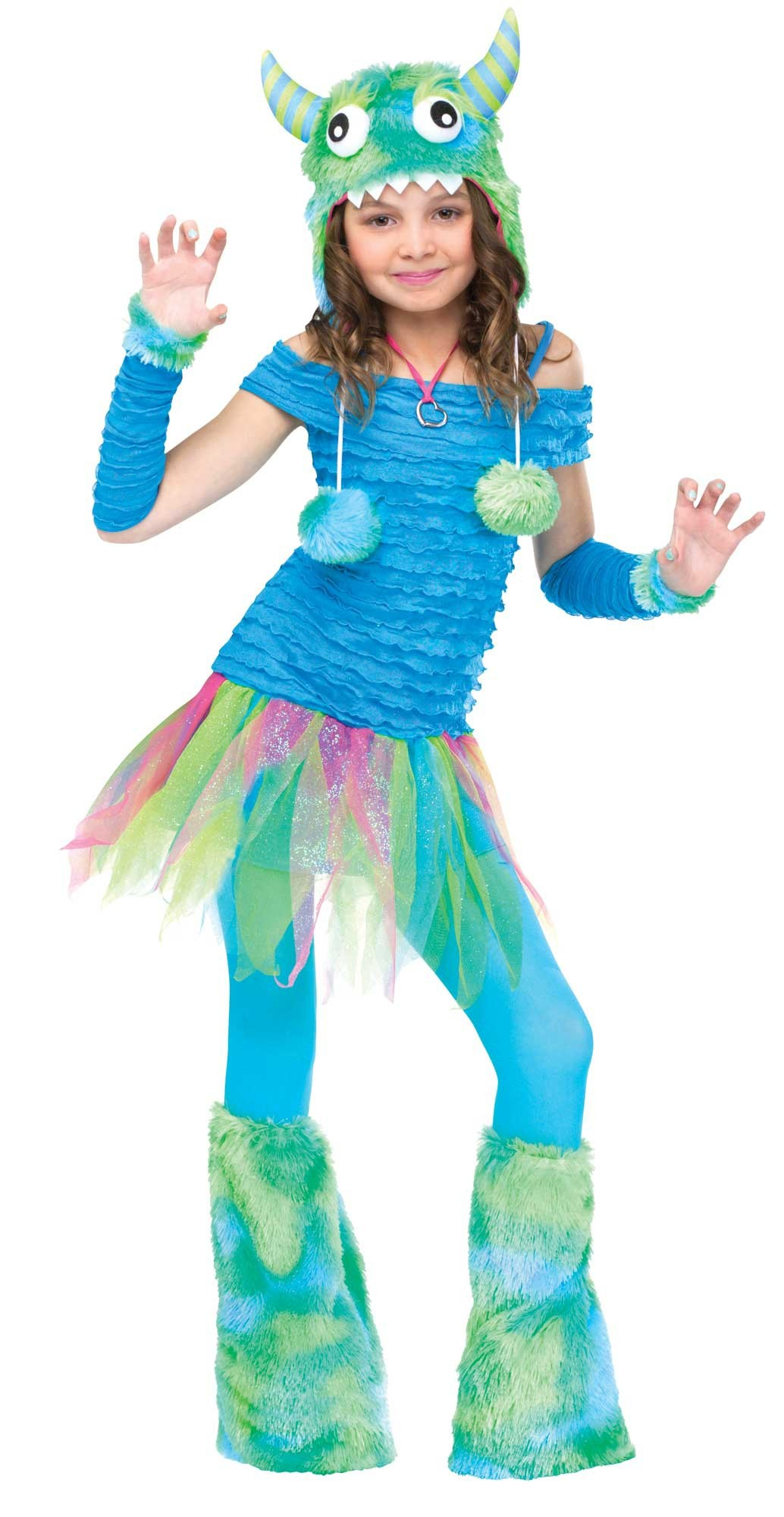 blue beastie monster costume