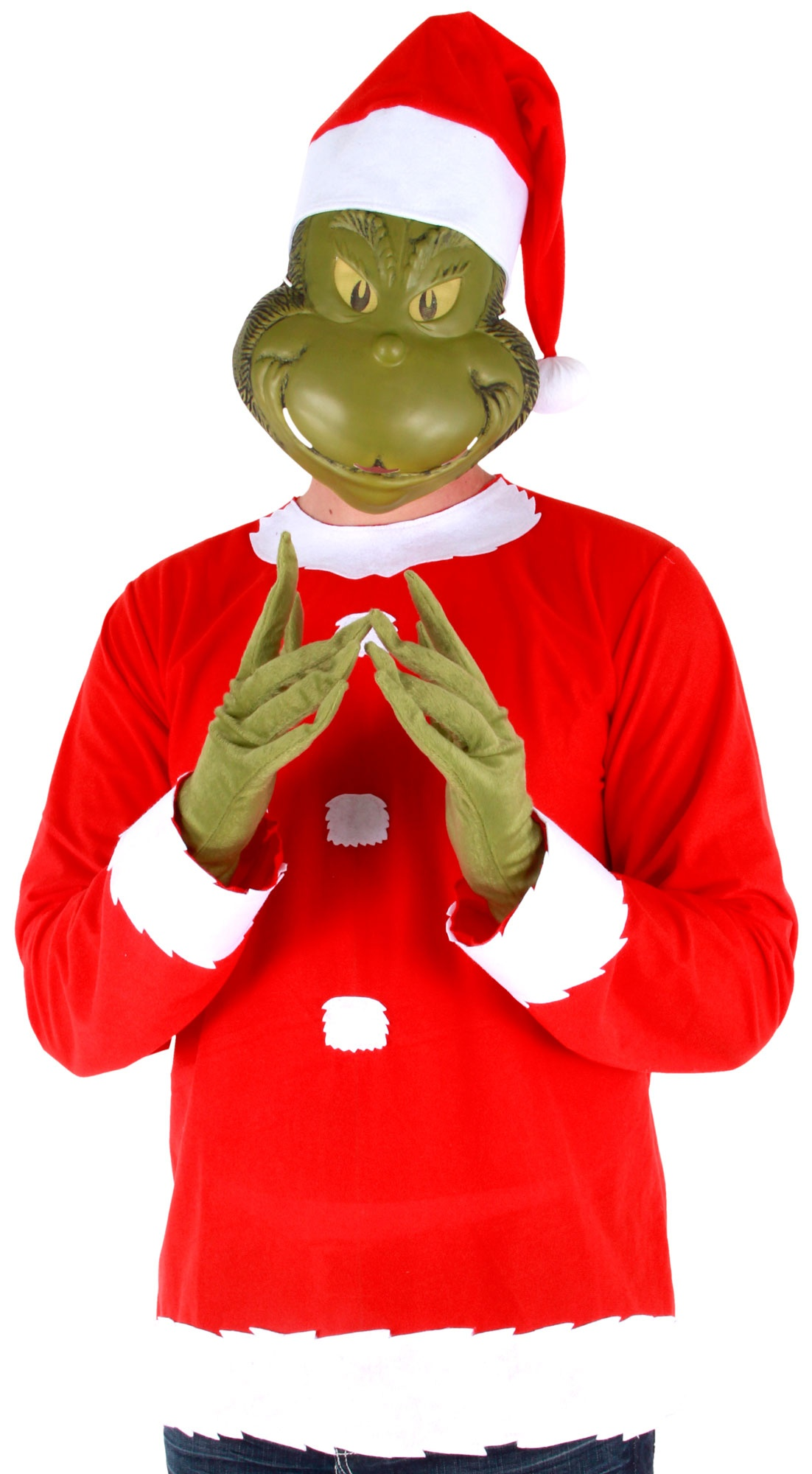 Dr seuss grinch funny adult costume mr costumes