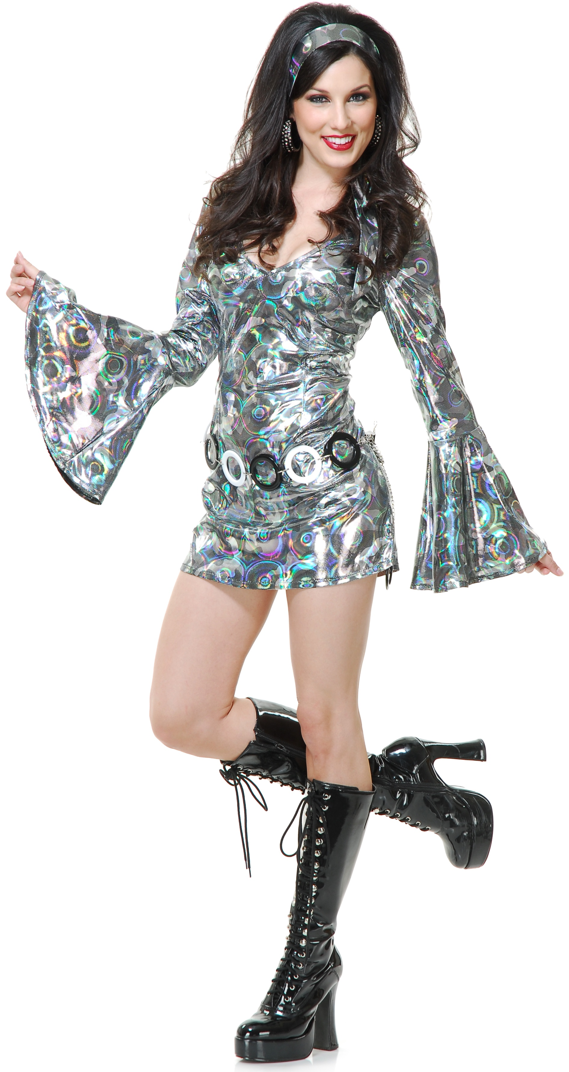 Sexy Womens Disco Queen Costume - Mr. Costumes