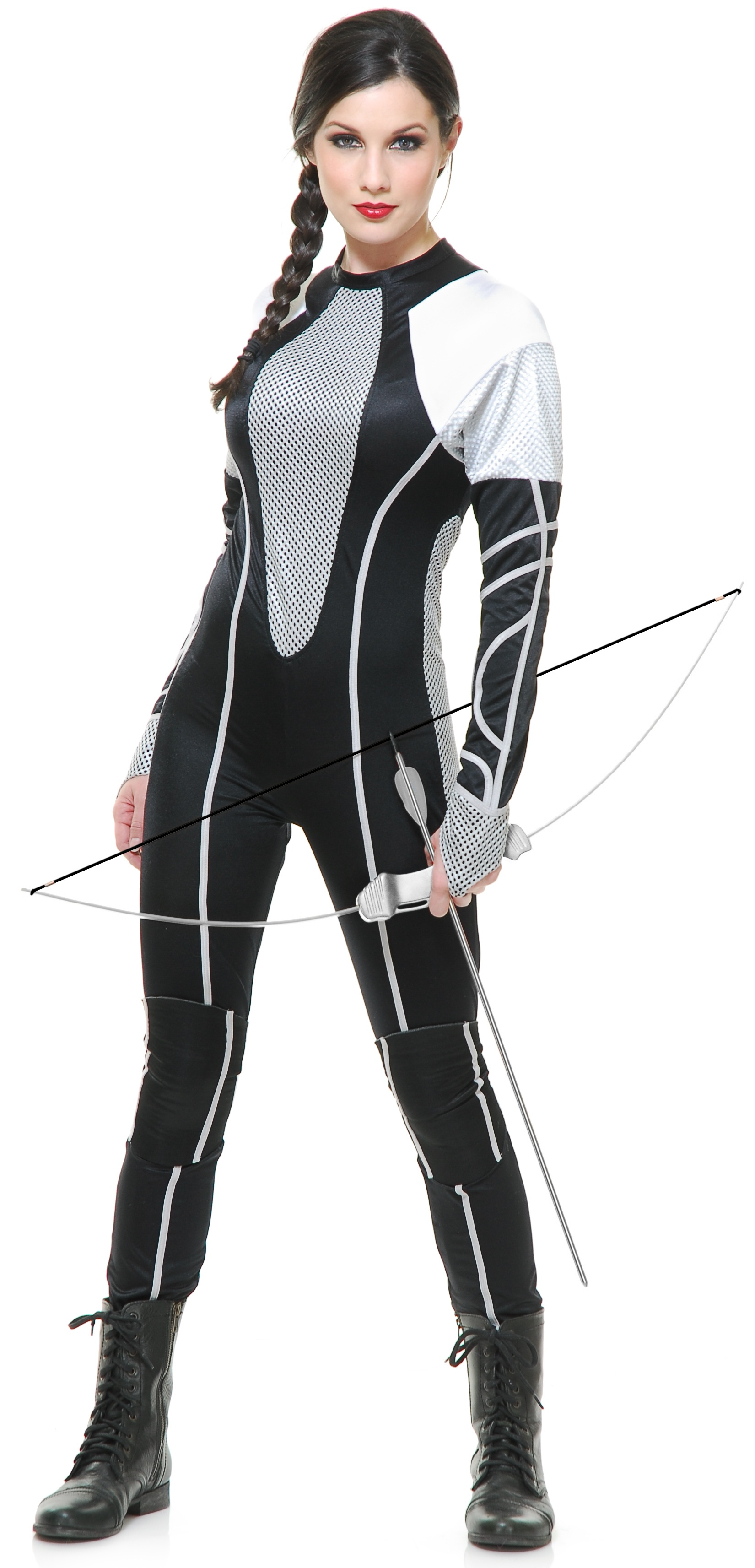 Hunger Games Huntress Movie Adult Costume - Mr. Costumes
