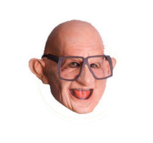 six flags funny mr six 34 adult mask mr costumes