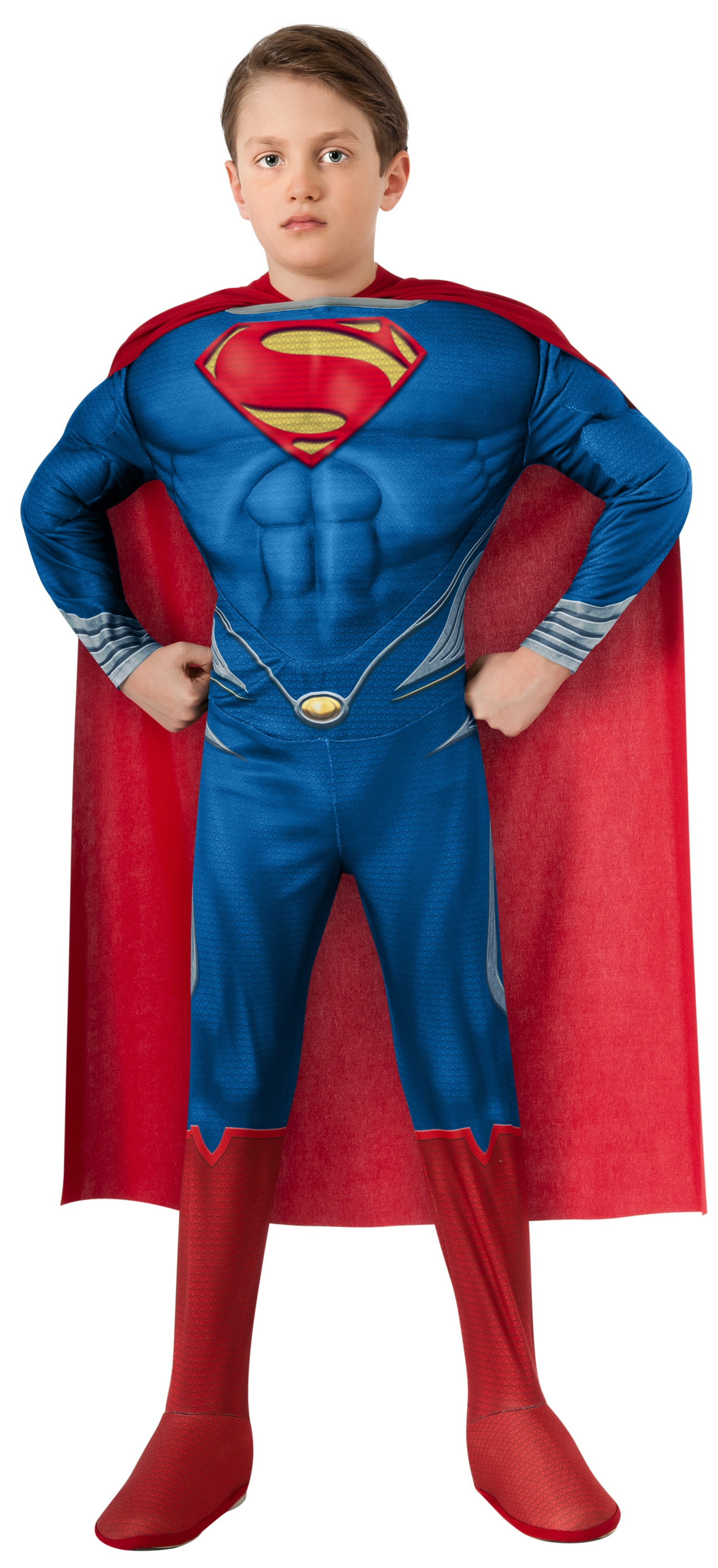 deluxe muscle chest superman costume