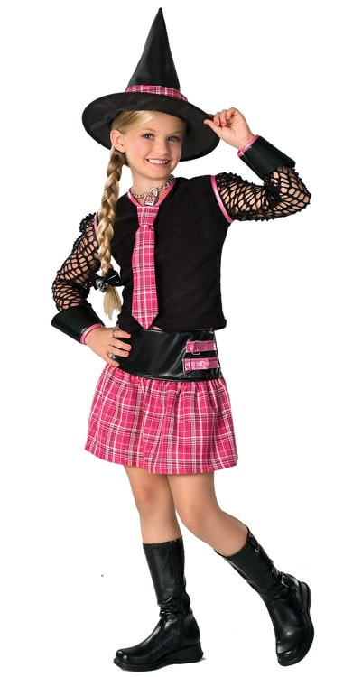 Drama Queen Ex-Spelled Kids Witch Costume - Mr. Costumes