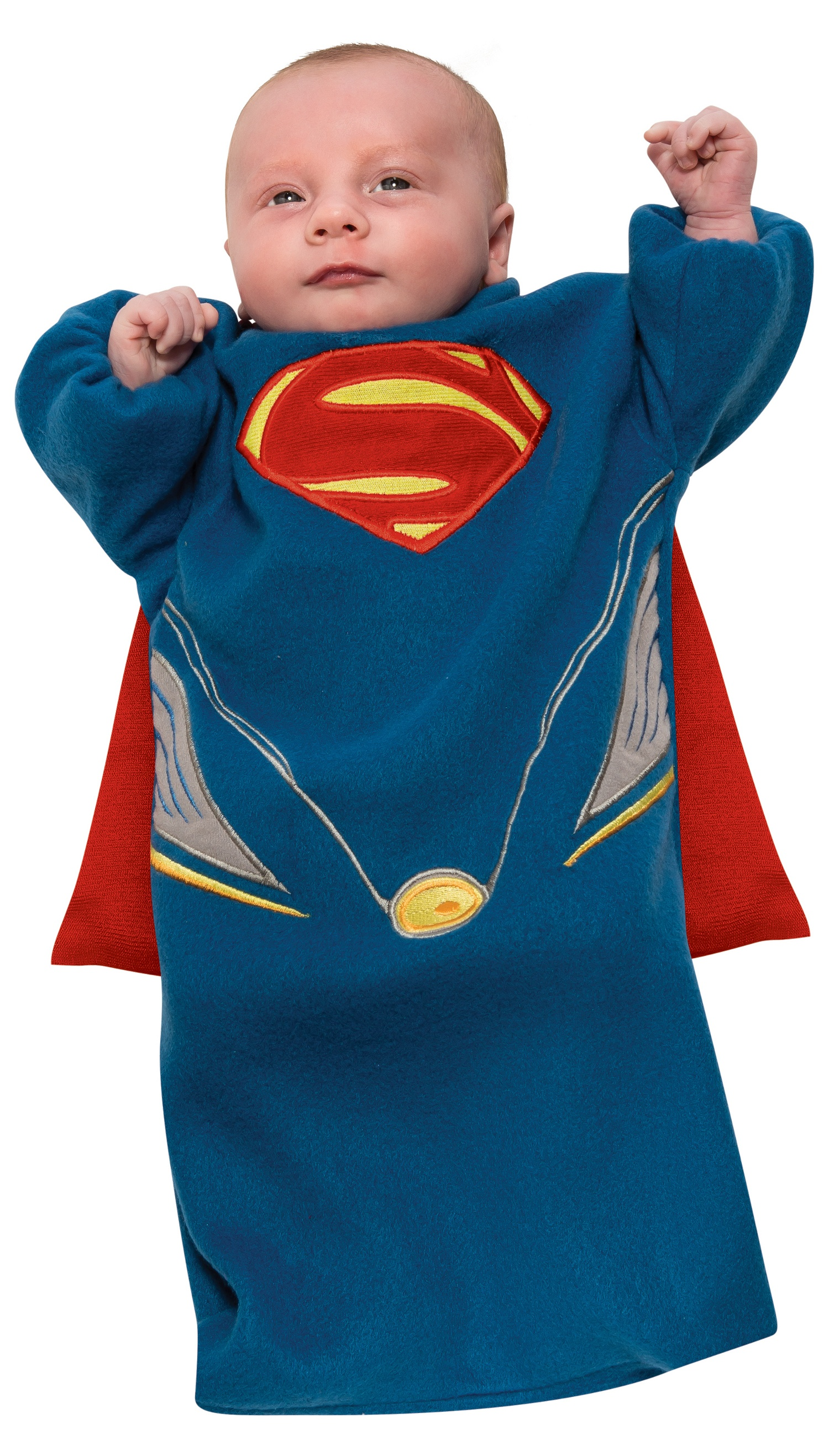 man of steel bunting superman baby costume mr costumes. Black Bedroom Furniture Sets. Home Design Ideas