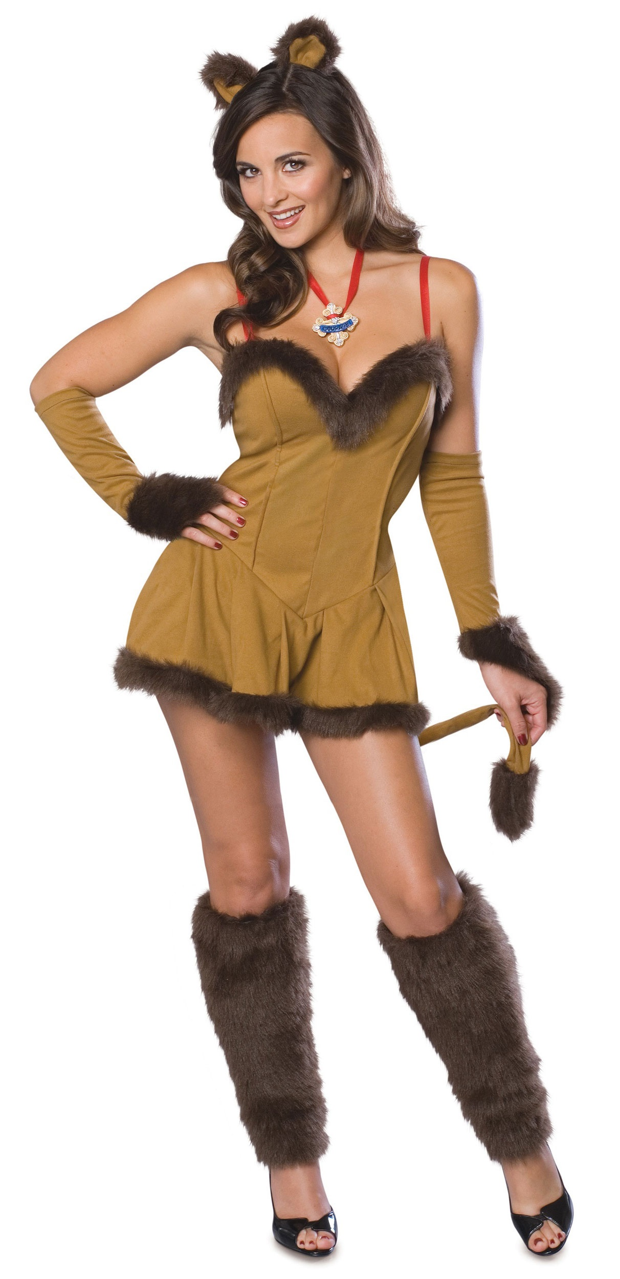 Wizard of Oz Cowardly Lion Sexy Costume - Mr. Costumes