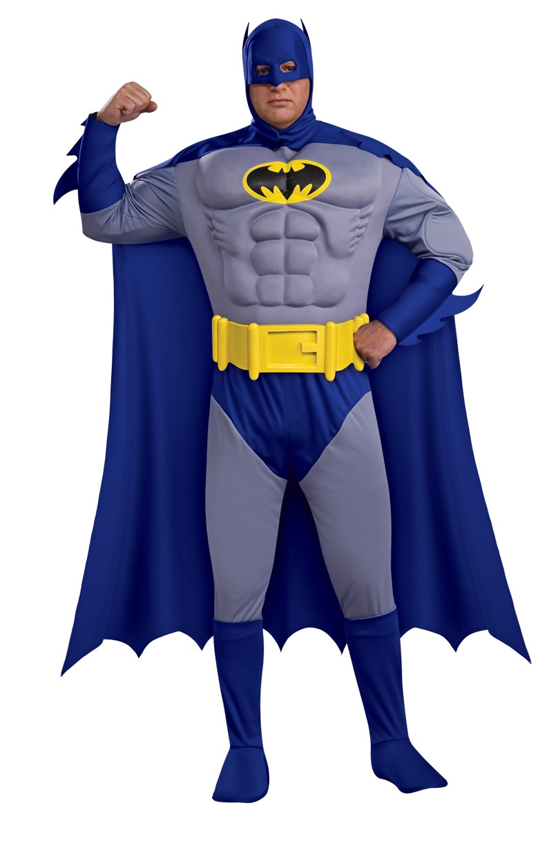 Batman Muscle Chest Deluxe Plus Costume Costumes