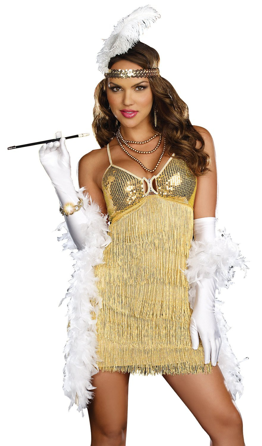 Flapper Dress Costume - Viewing Gallery