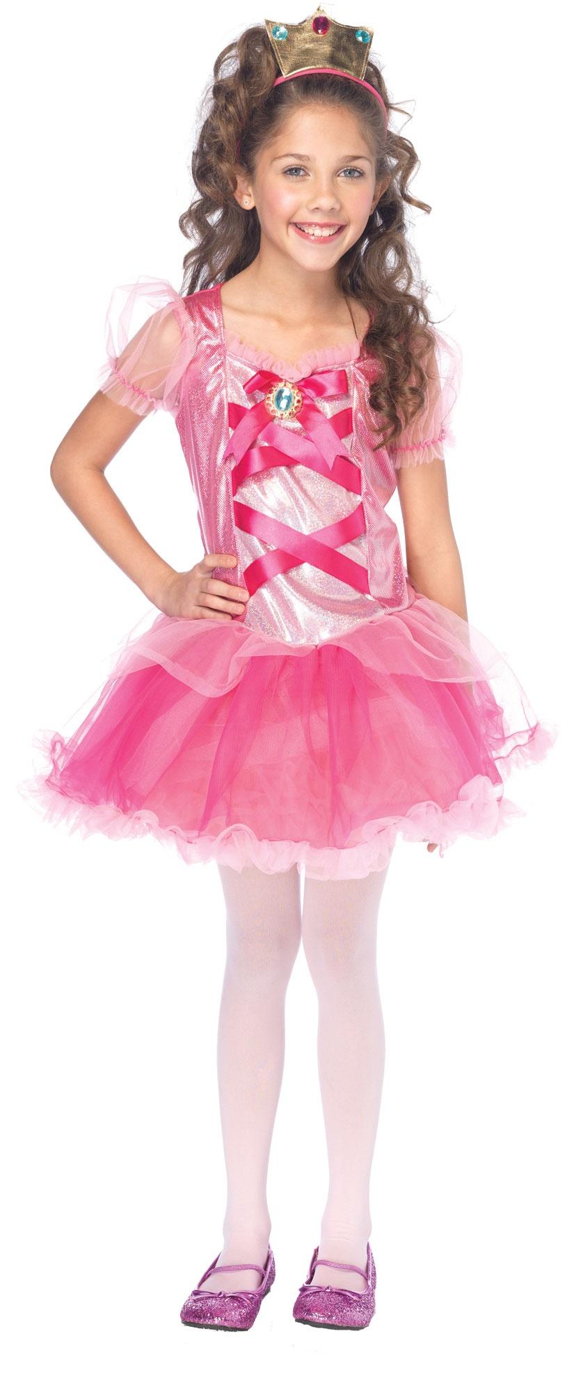Pretty Pink Princess Kids Costume - Mr. Costumes