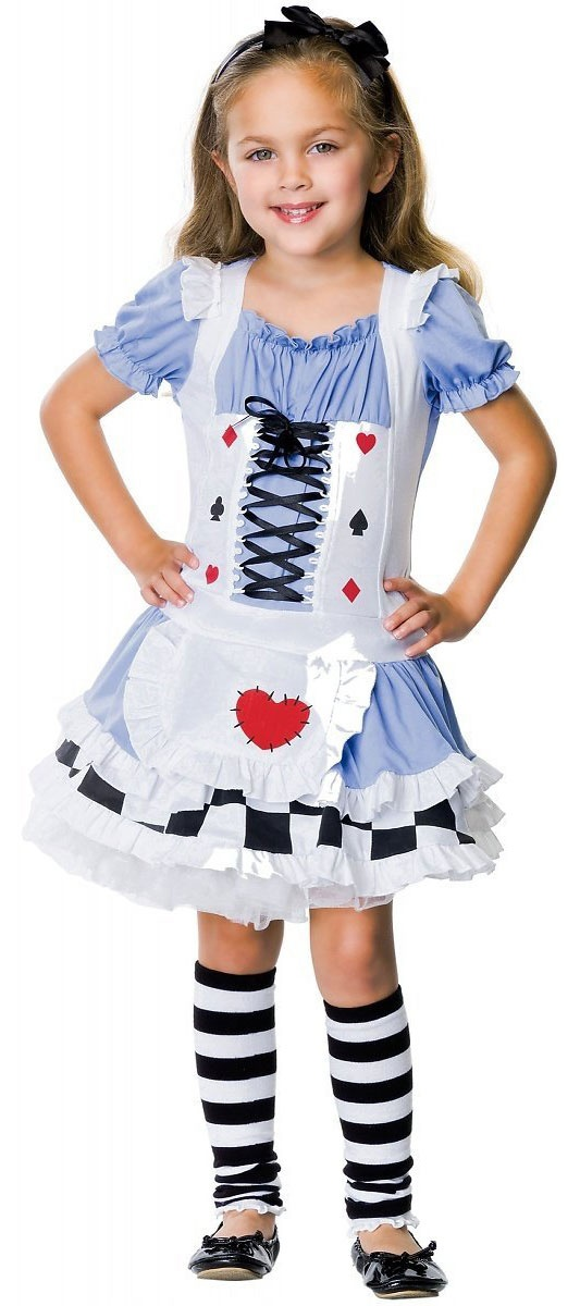 Deluxe toddler alice costume