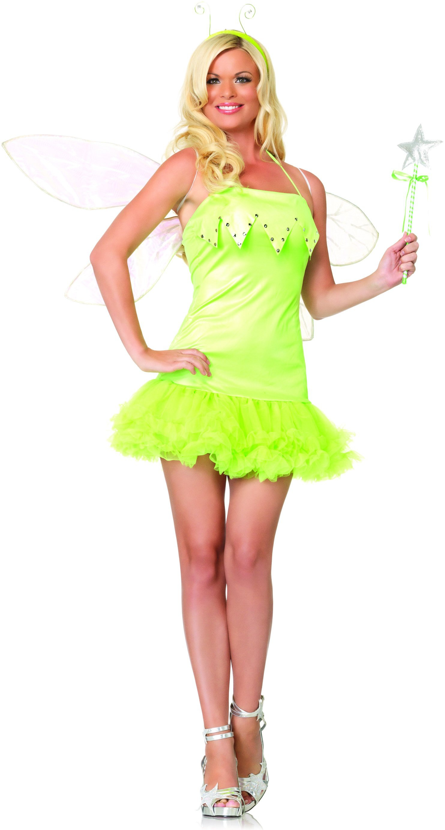Pixie dust sexy green fairy costume mr costumes