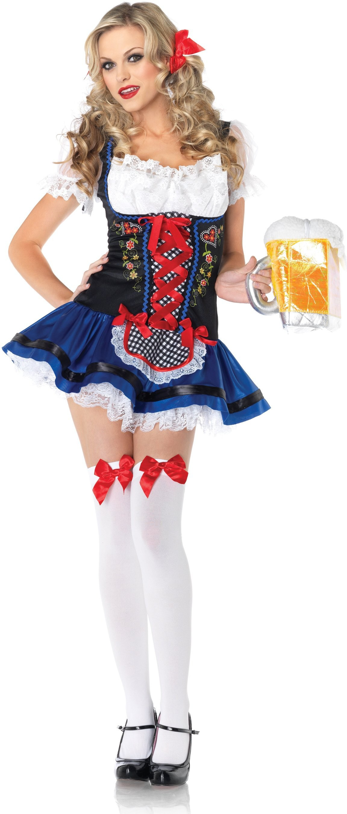 Flirty Frauline Beer Girl Costume Costumes