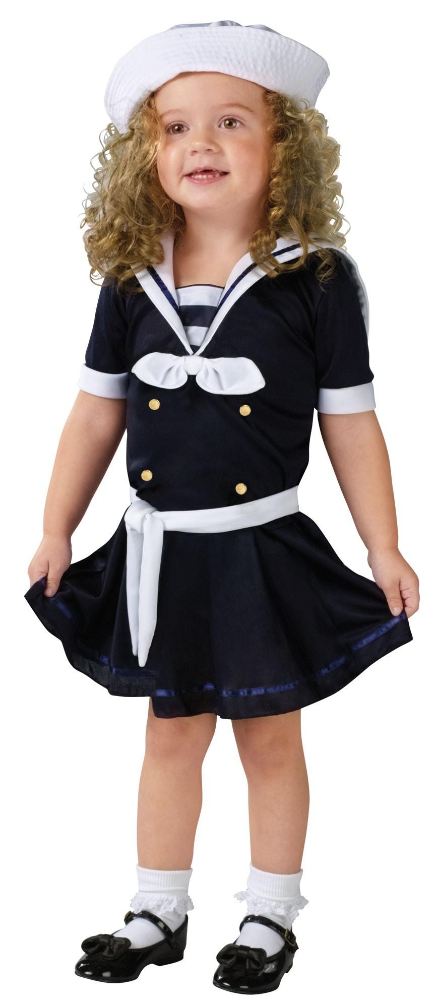 Kids Sea Sweetie Toddler Sailor Costume Costumes