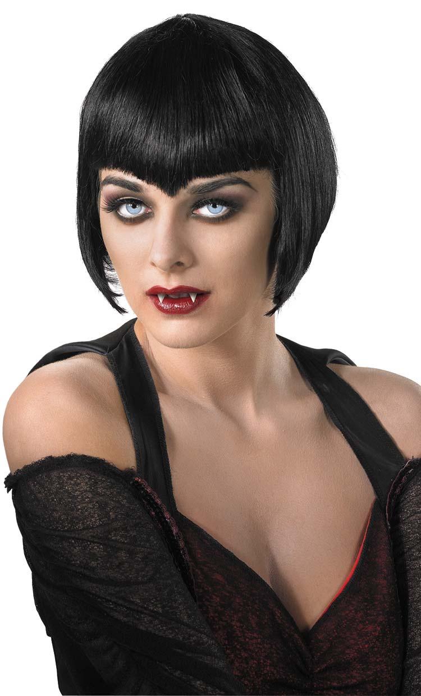 Womens Sexy Vampire Wig Mr Costumes