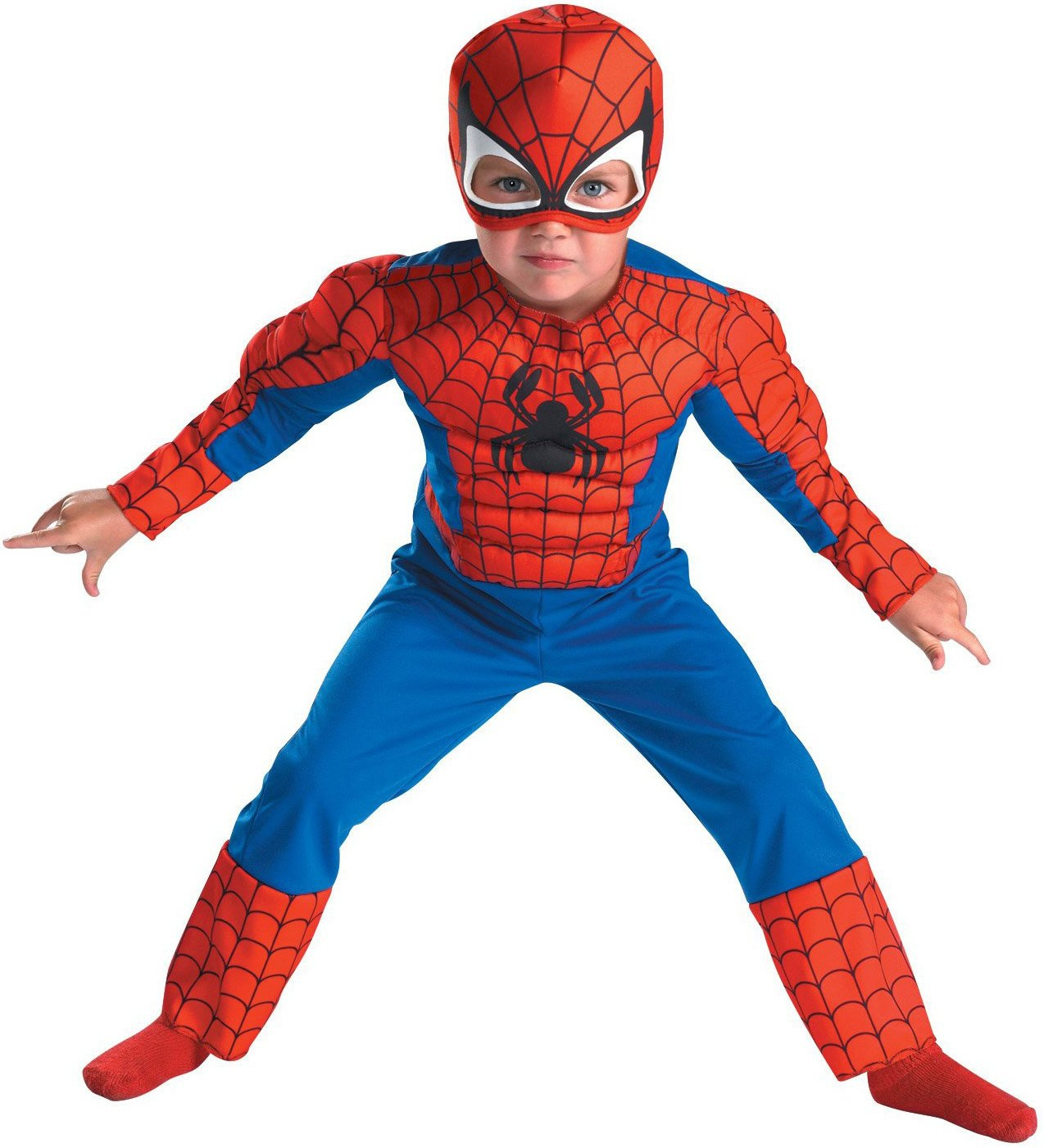 Spiderman Muscle Chest Toddler Costume Mr Costumes  sc 1 st  Meningrey & Spiderman Costume With Muscles - Meningrey