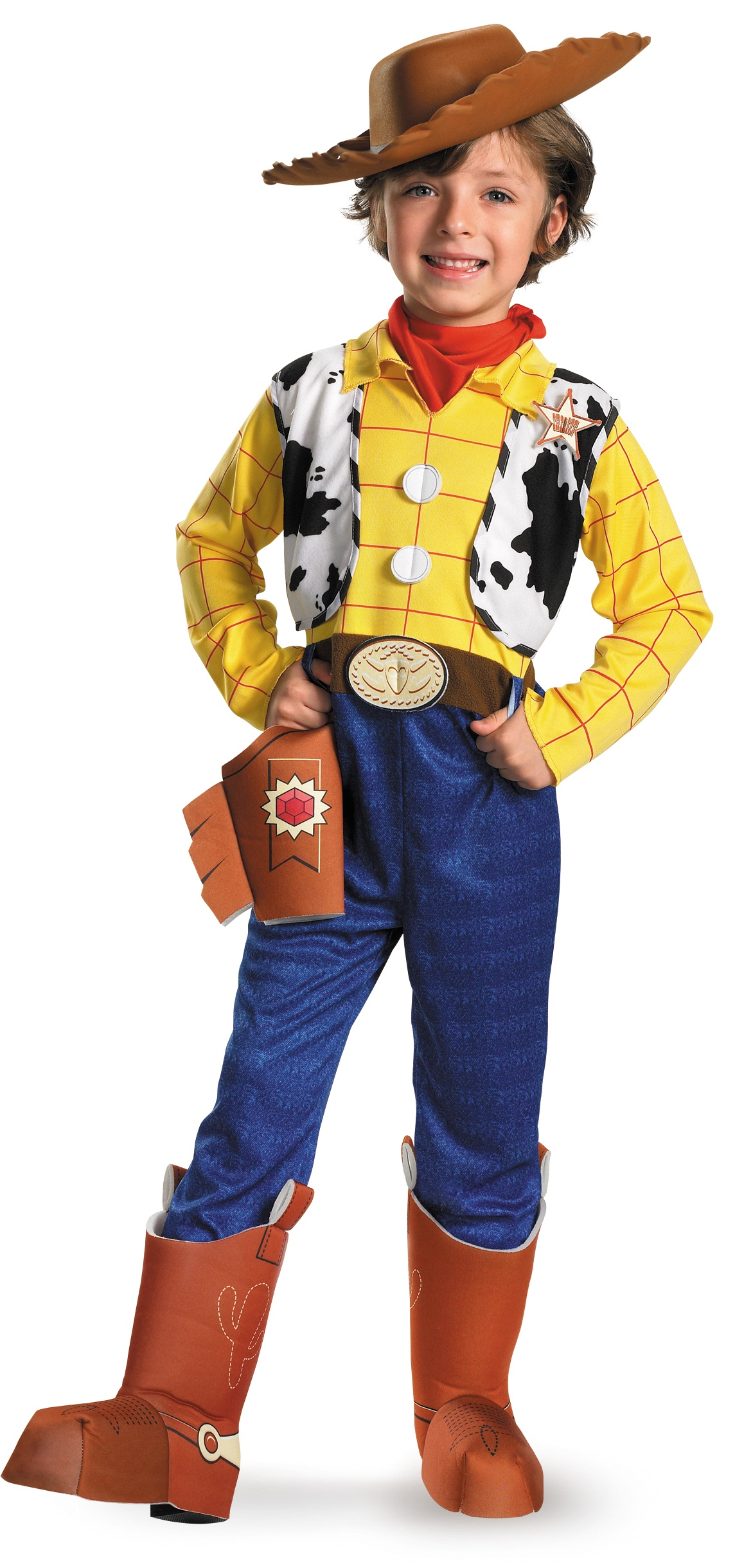 ... Toy Story Costumes >> Disney Toy Story Woody Deluxe Kids Cowboy