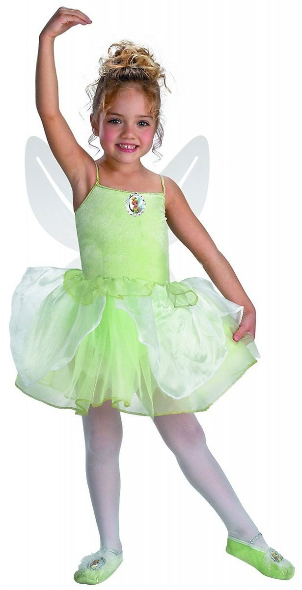 You will believe in fairies when you dress your little one in the Infant Disney Tinker Bell Deluxe Costume. Made of cuddly soft and durable % polyester, this 2-piece Costume for infants aged months comes with detachable wings and a green dress with tulle sleeves and skirt.