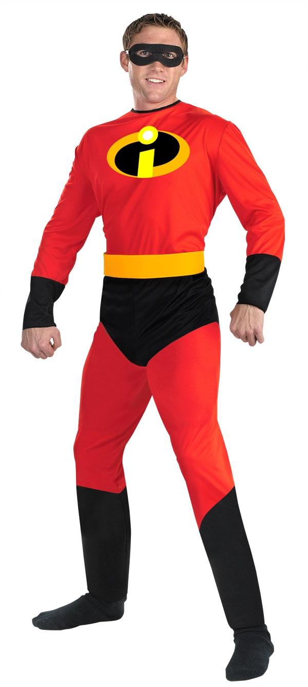 Mr Incredible Adult Disney Costume - Mr. Costumes