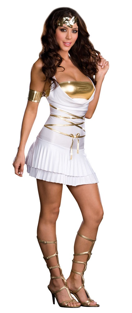 So? Greek costume porn babes have