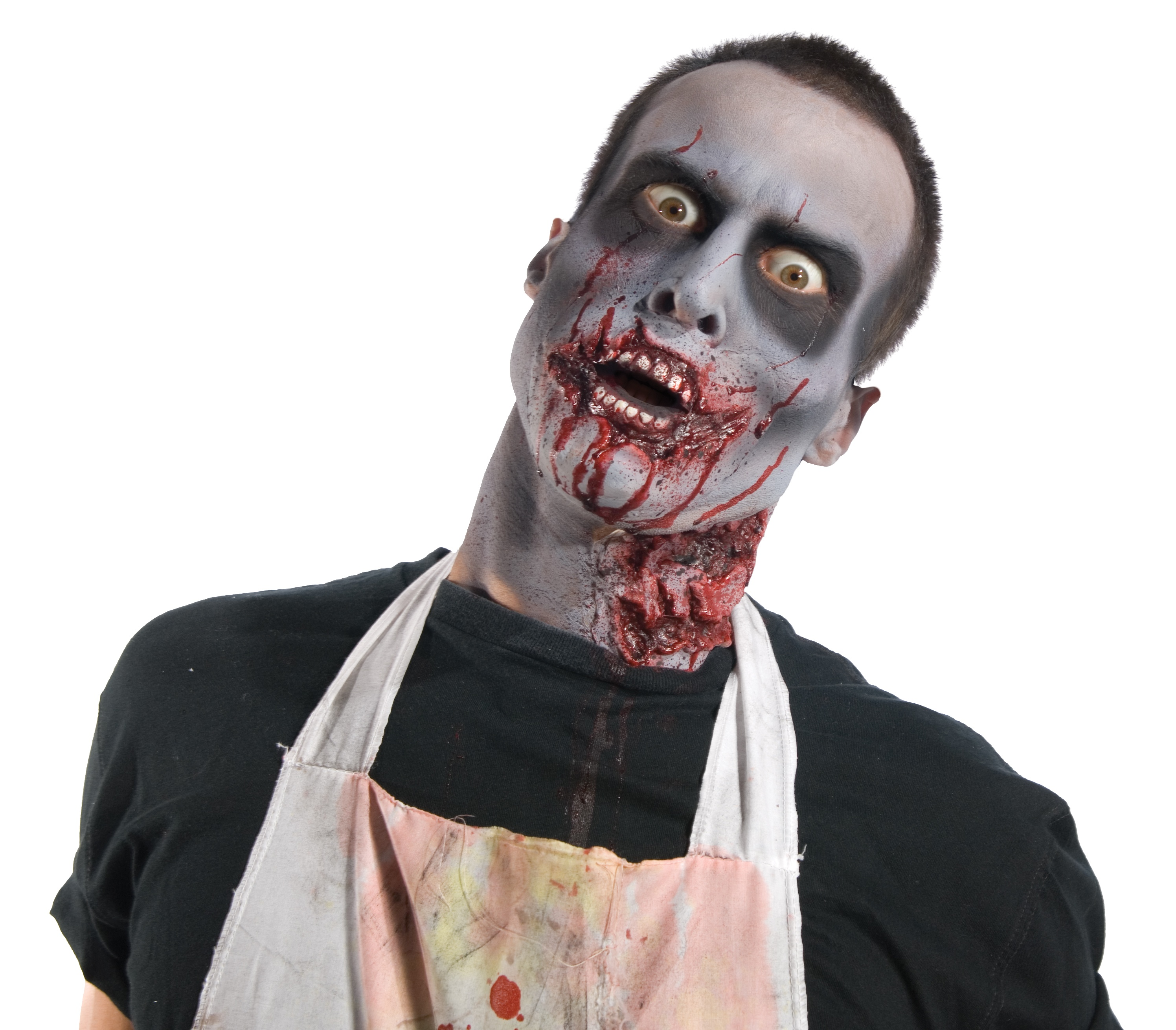 Full Zombie Makeup Kit - Mr. Costumes