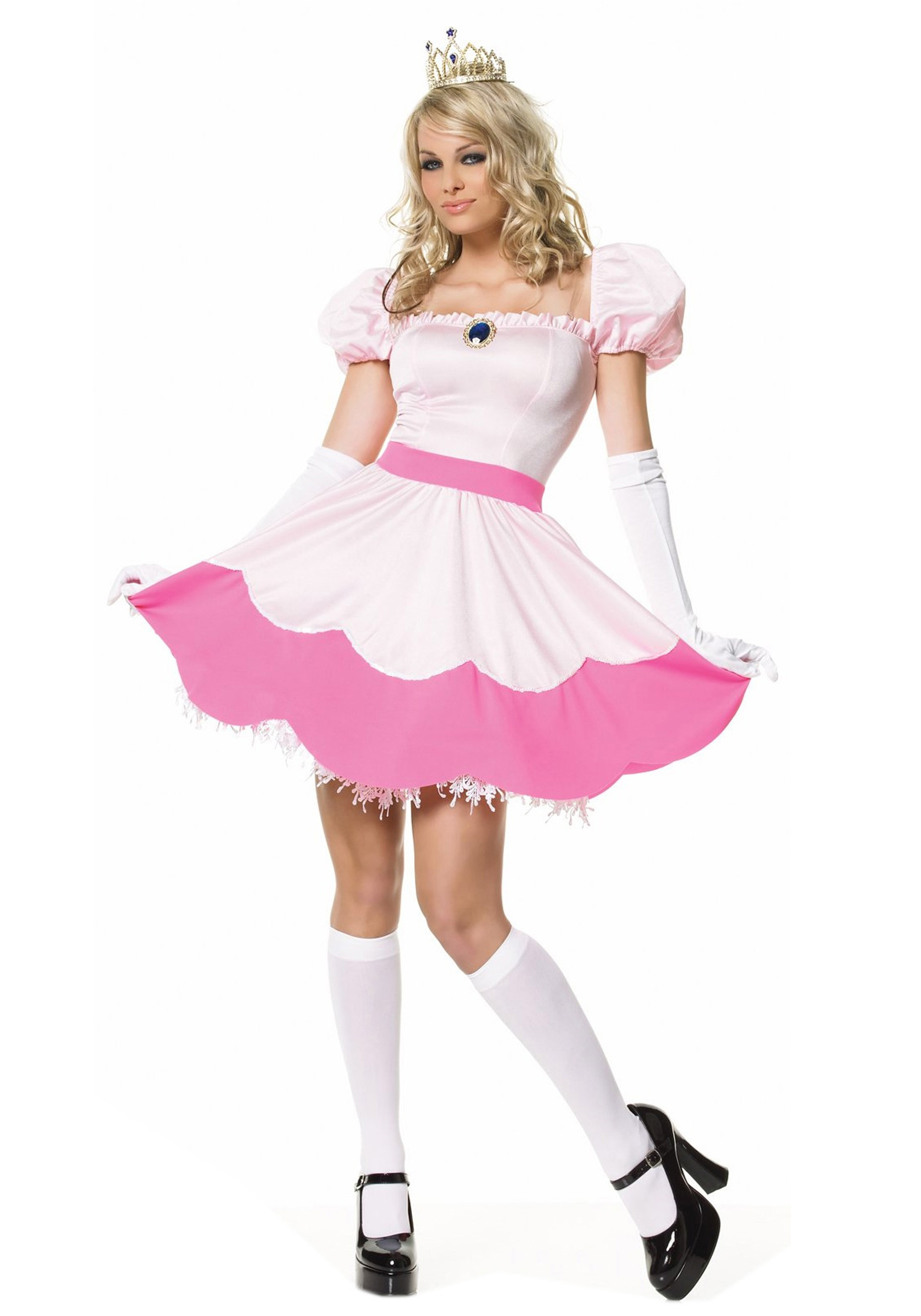 princess peach and daisy costume. Princess+peach+costume