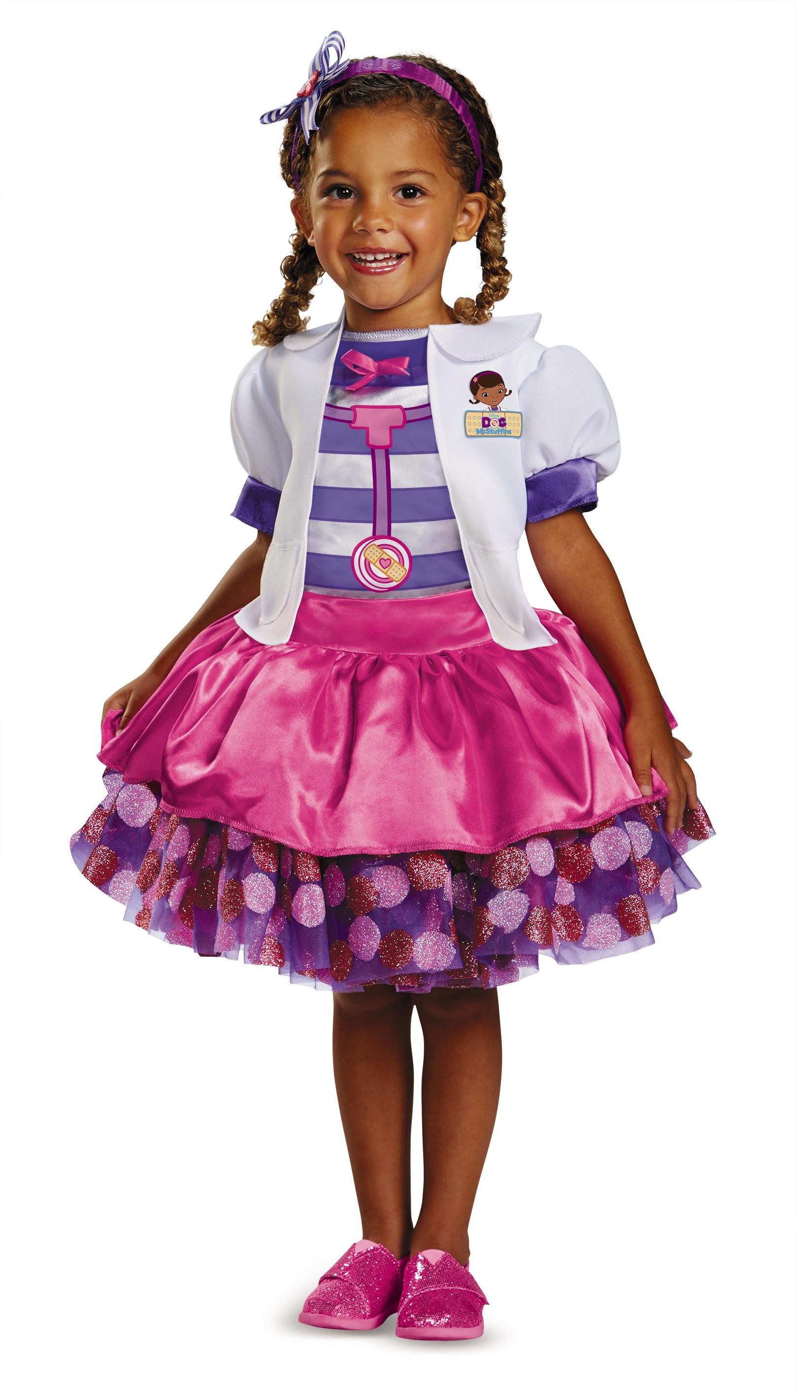 doc mcstuffins disney kids costume