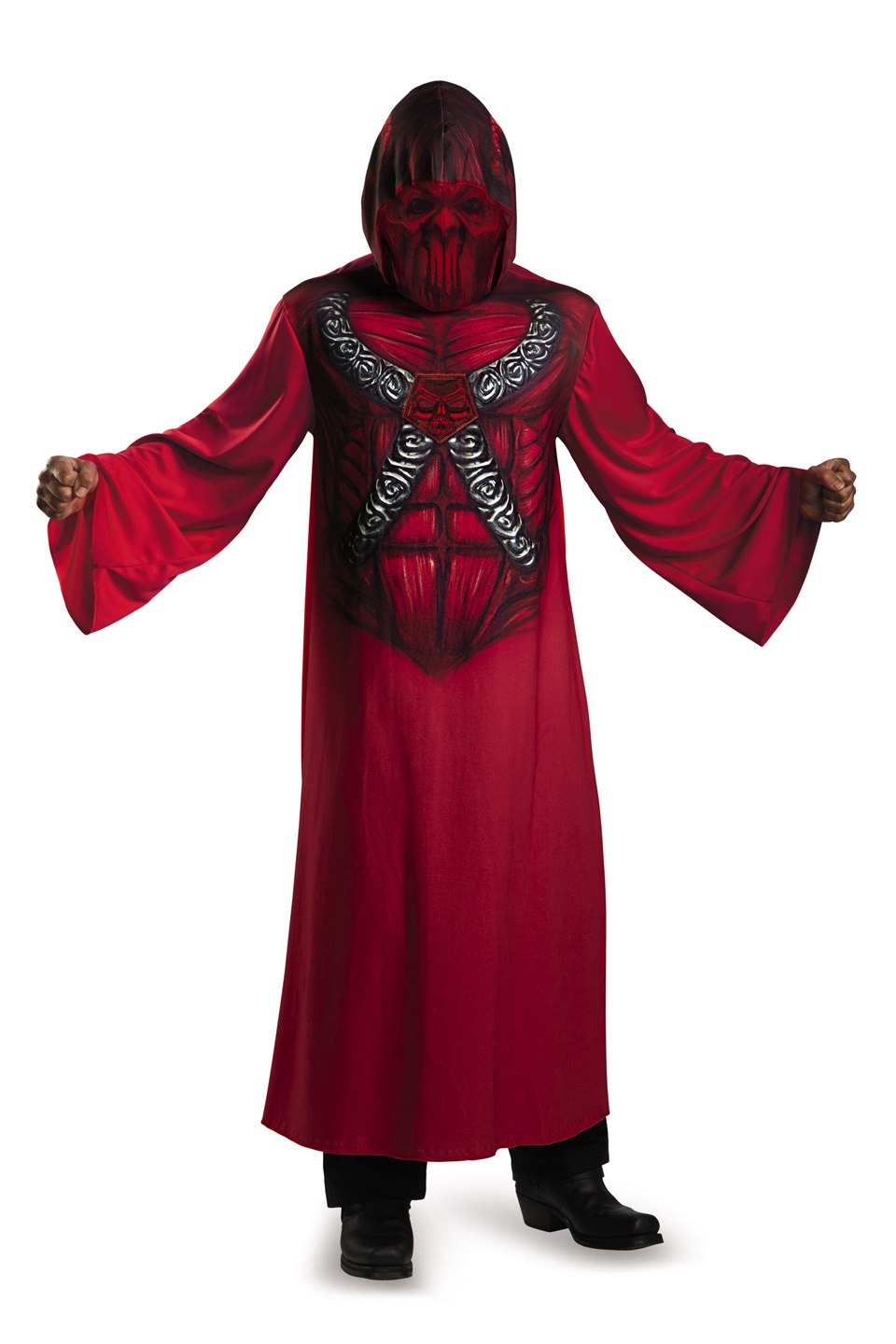 Home gt gt devil costume gt gt hooded devil scary adult costume