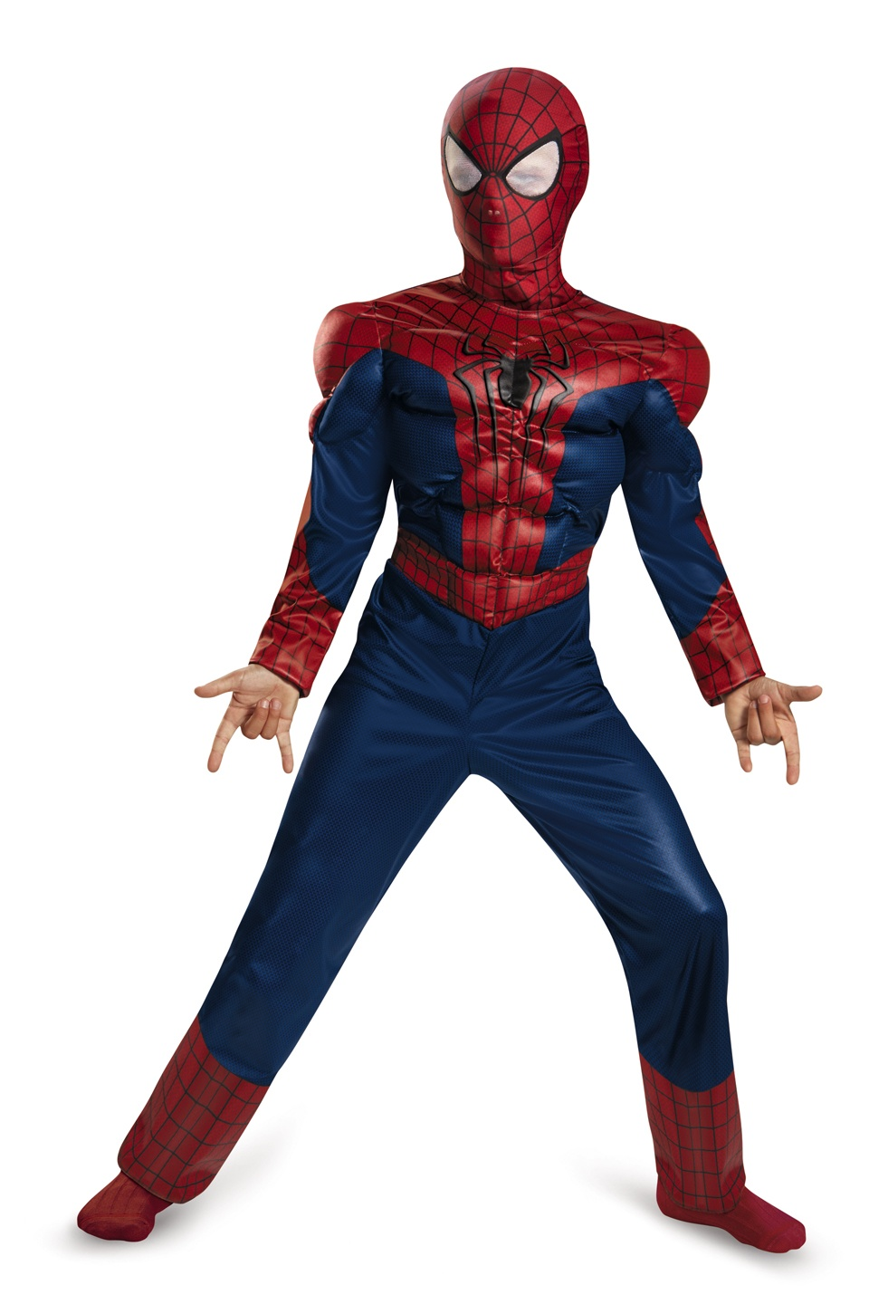 Classic Muscle Chest Spiderman Kids Costume Costumes