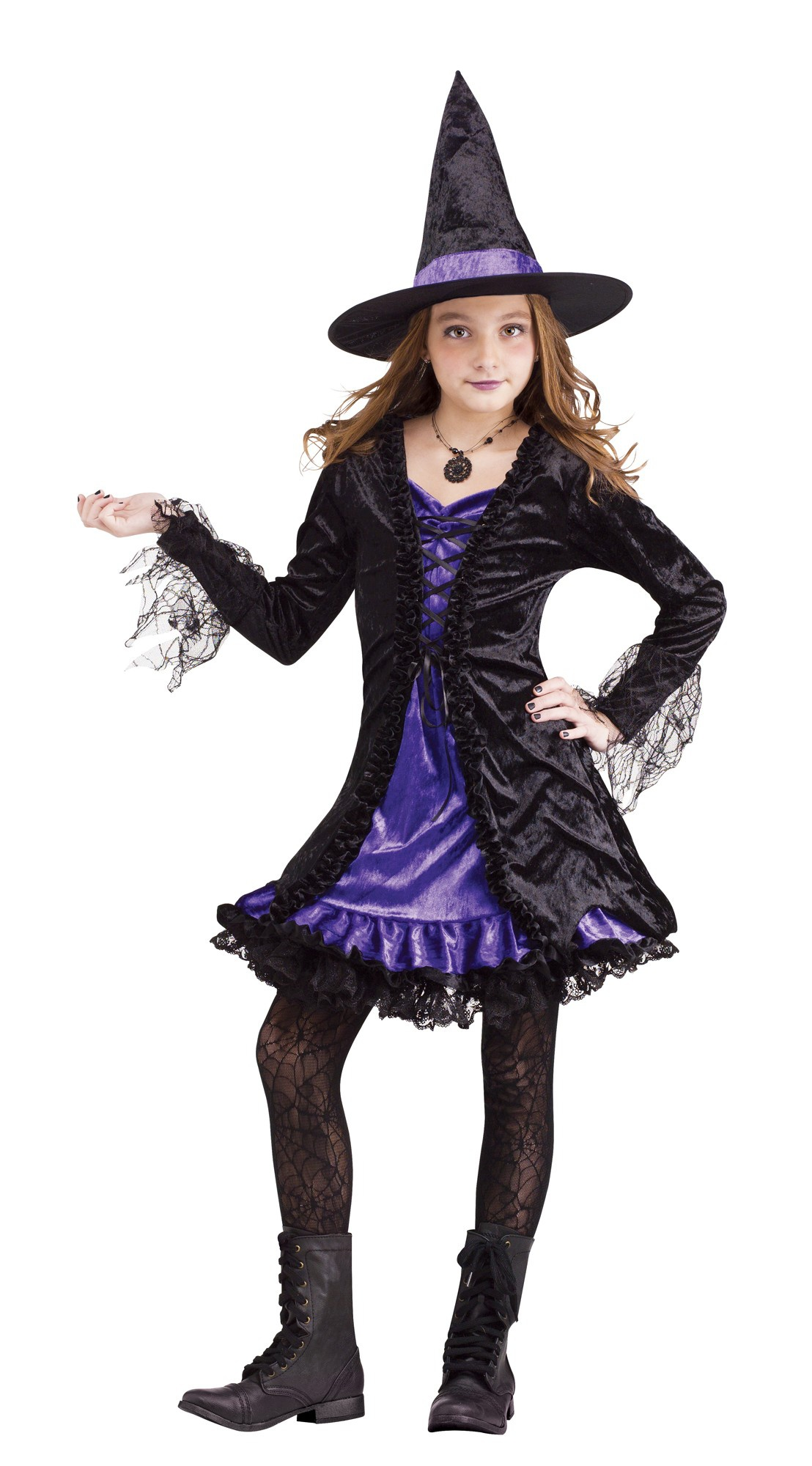 Magical Lace Witch Kids Costume Costumes
