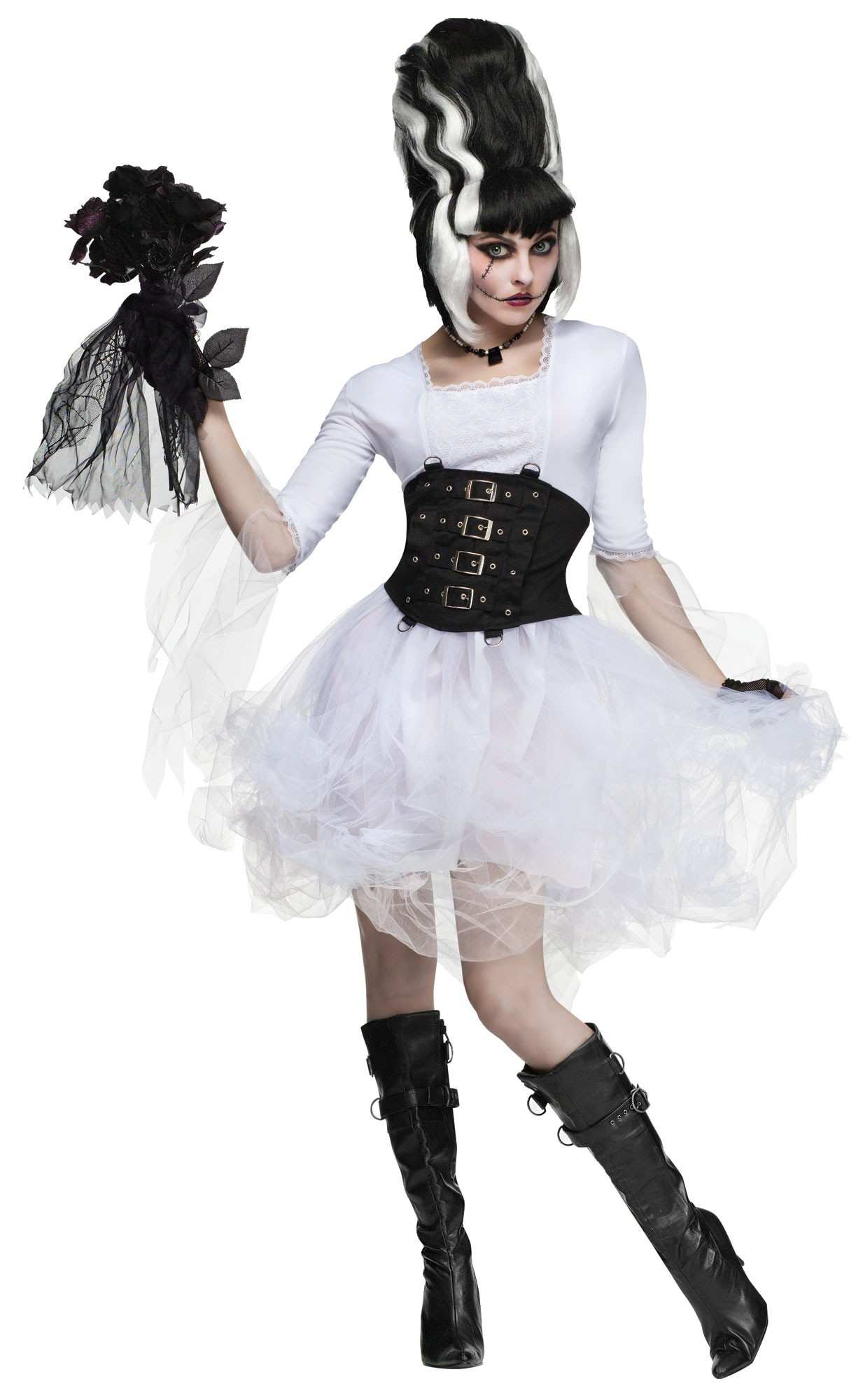 Gothic Monster Bride Adult Costume Mr Costumes