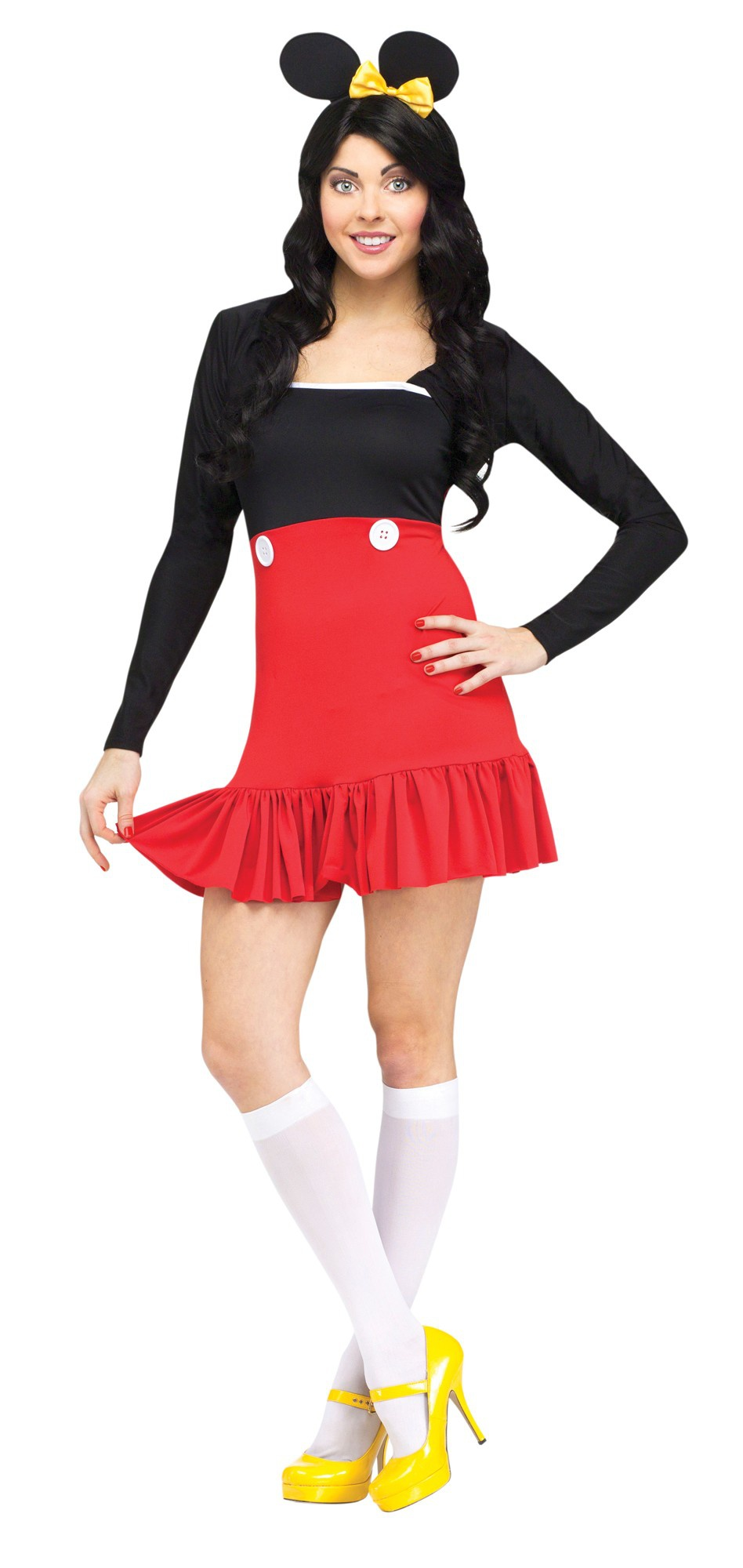 Sexy Miss Mickey Mouse Costume - Mr. Costumes