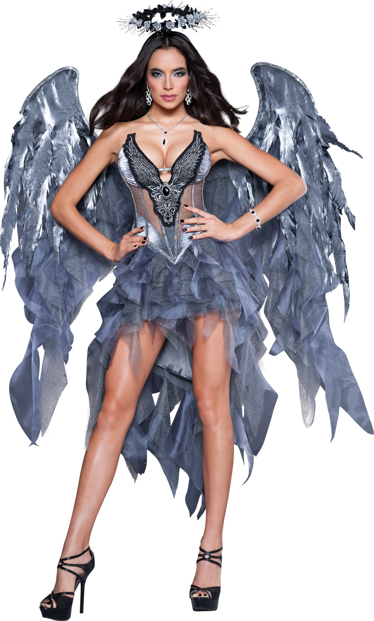 sexy dark angel desire costume mr costumes. Black Bedroom Furniture Sets. Home Design Ideas