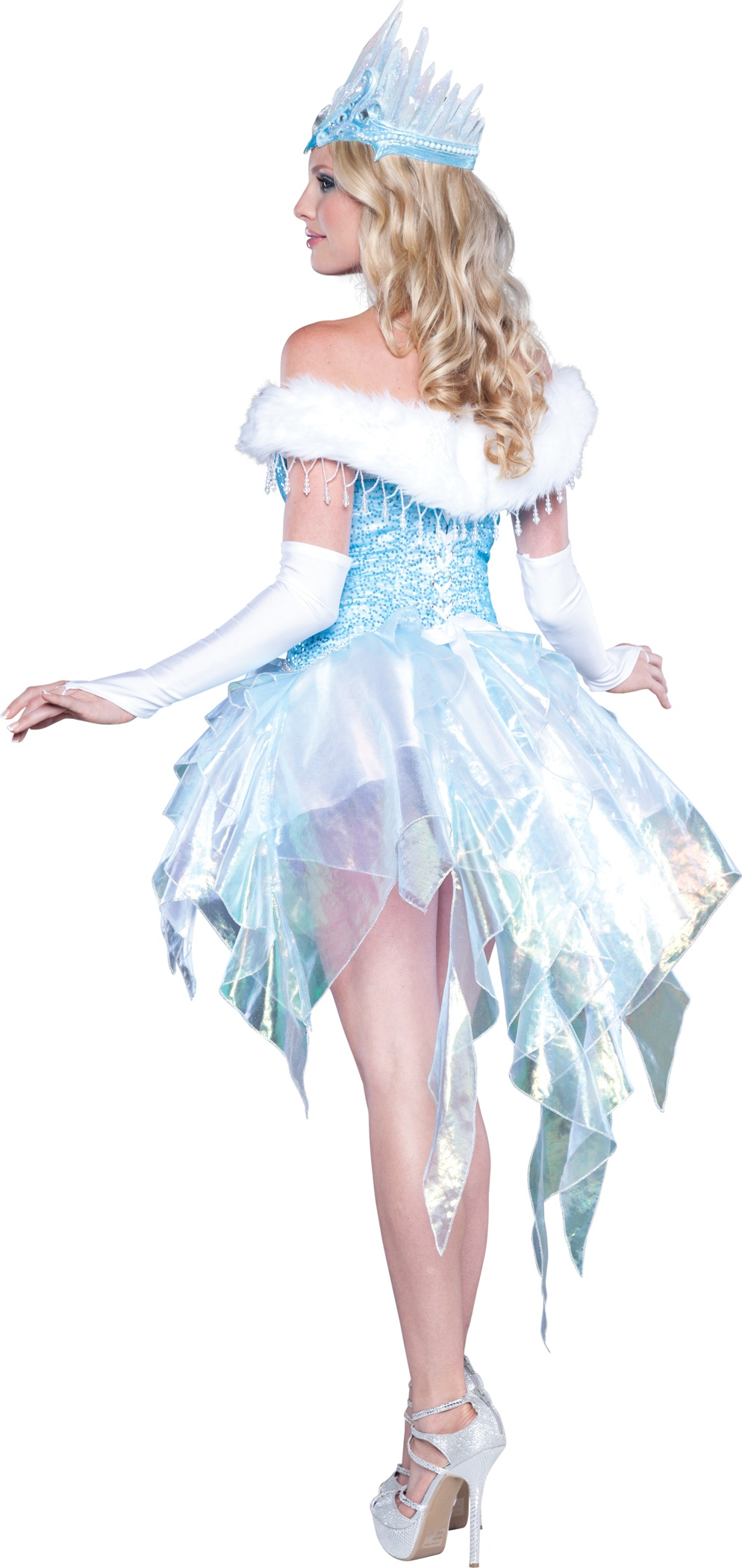 Sexy sequin snow queen costume mr costumes