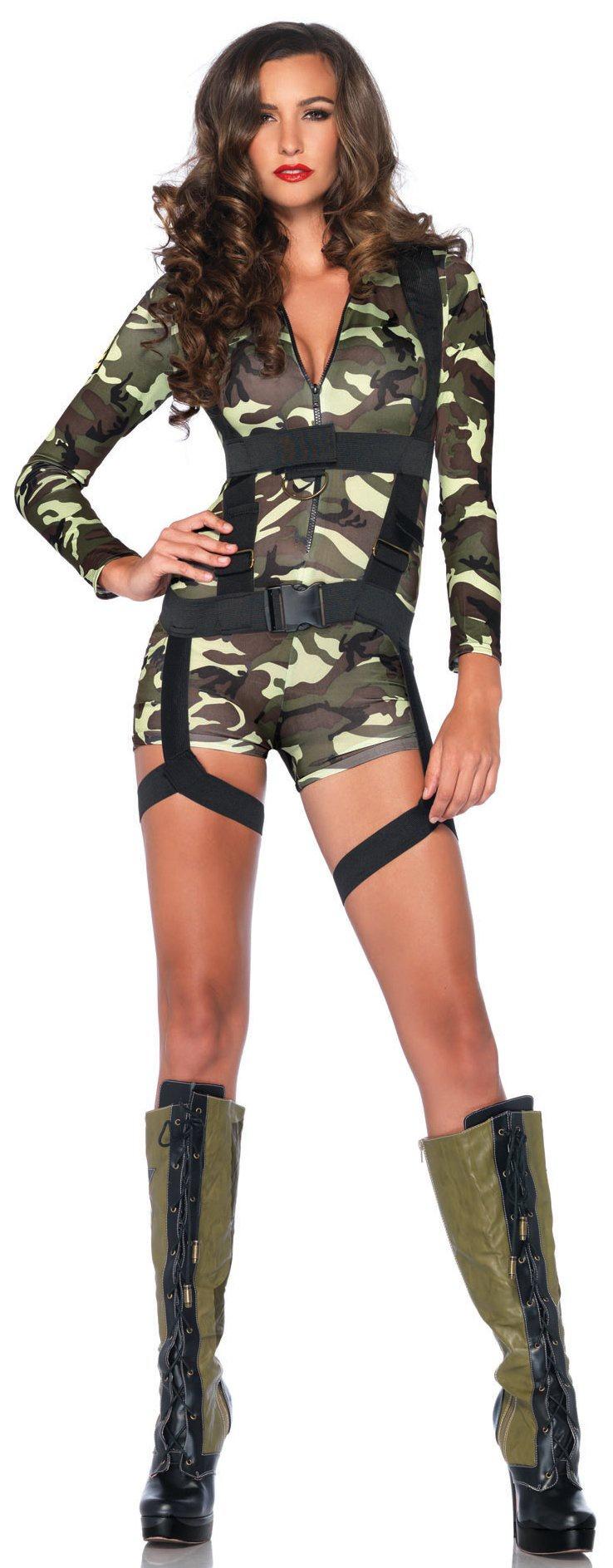 Sexy Goin' Commando Army Costume - Mr. Costumes