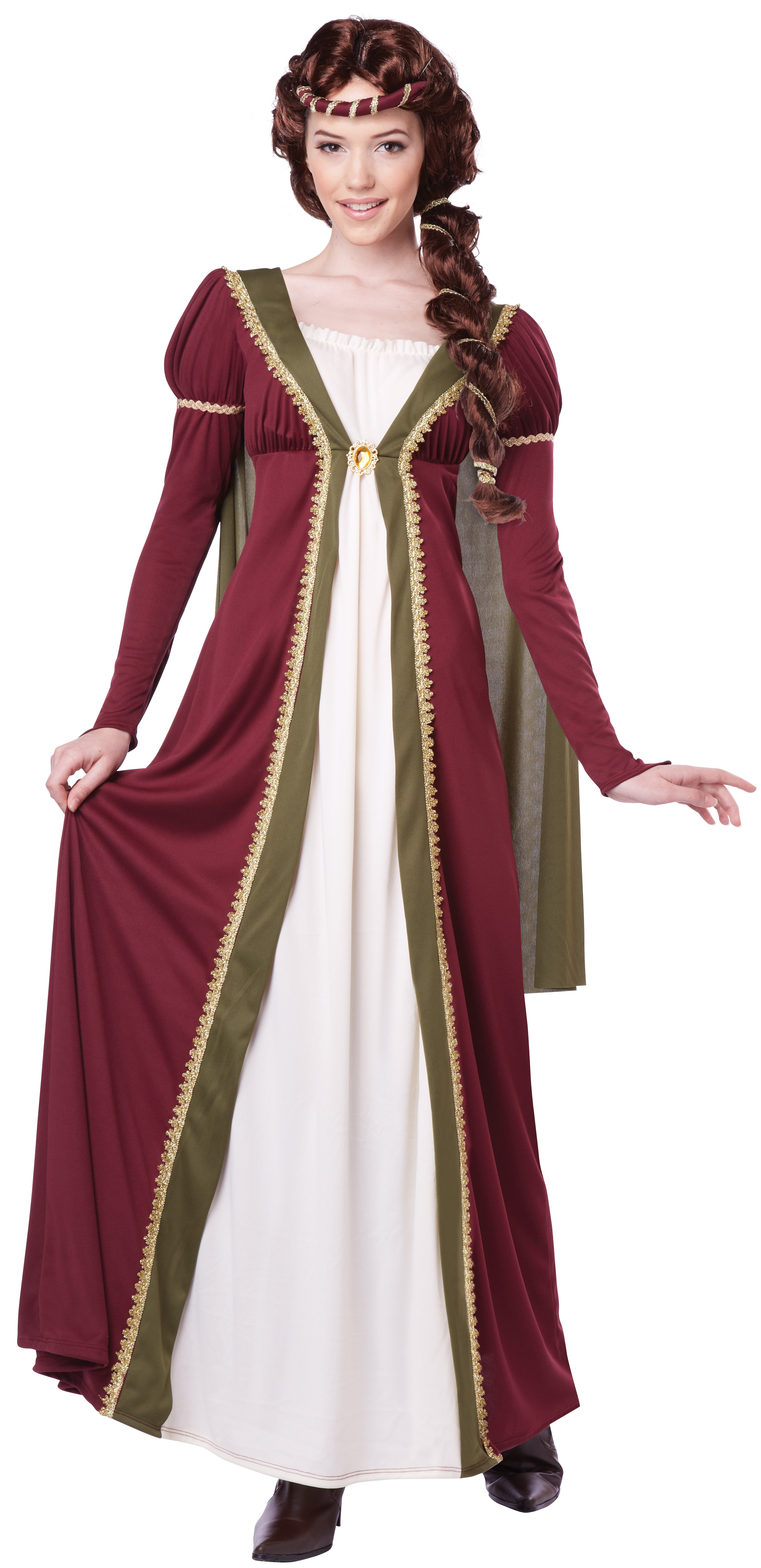 Medieval Maiden Adult Costume Mr Costumes