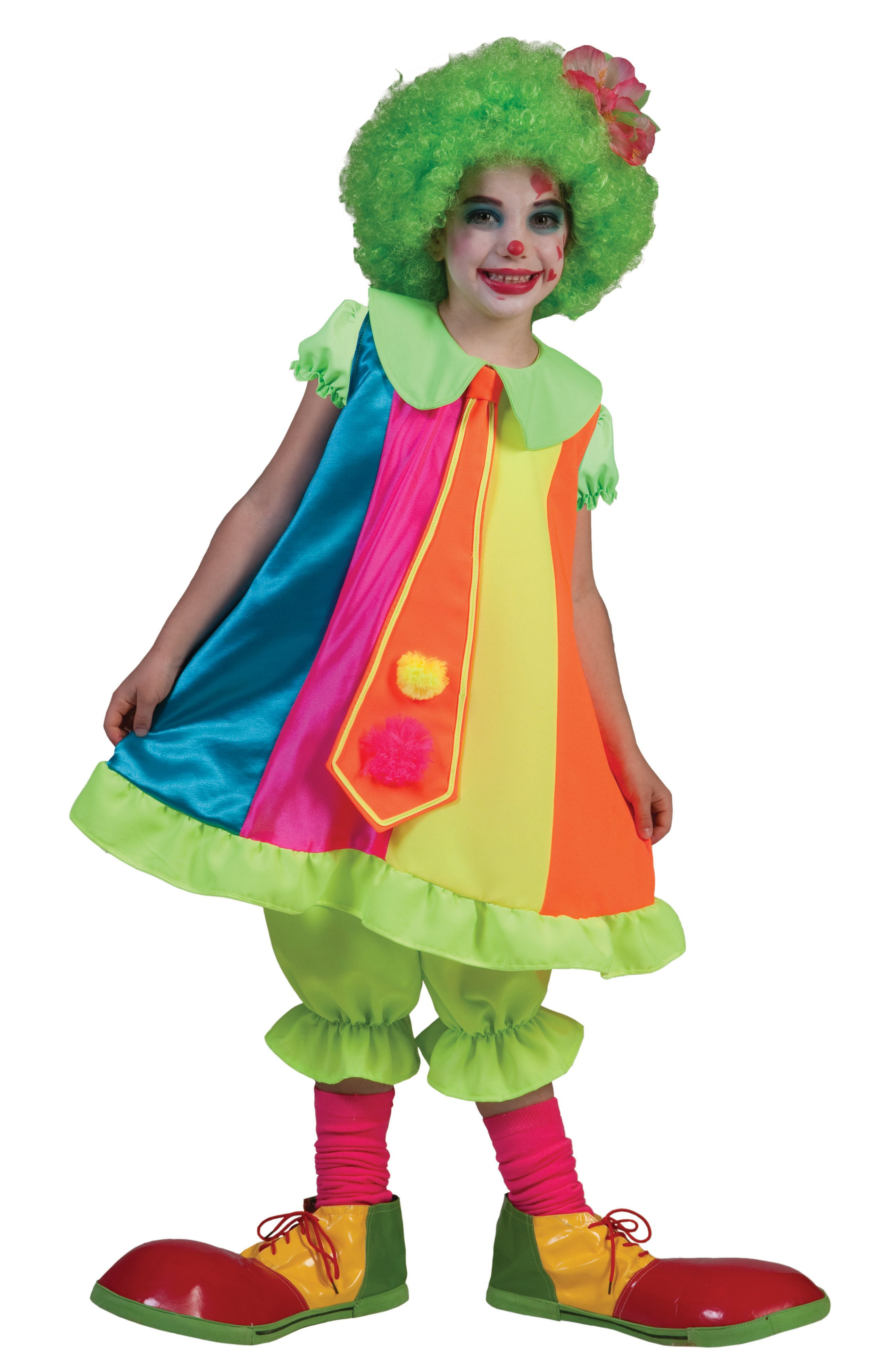 dainty clown kids costume mr costumes. Black Bedroom Furniture Sets. Home Design Ideas