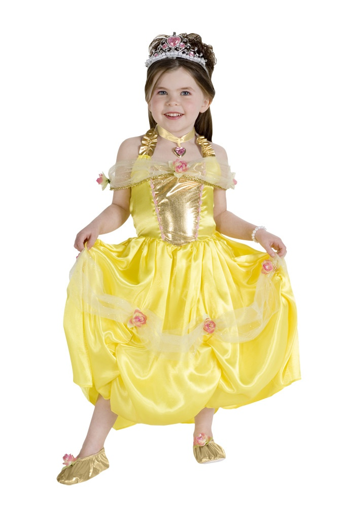 Elegant Princess Belle Kids Costume Mr Costumes