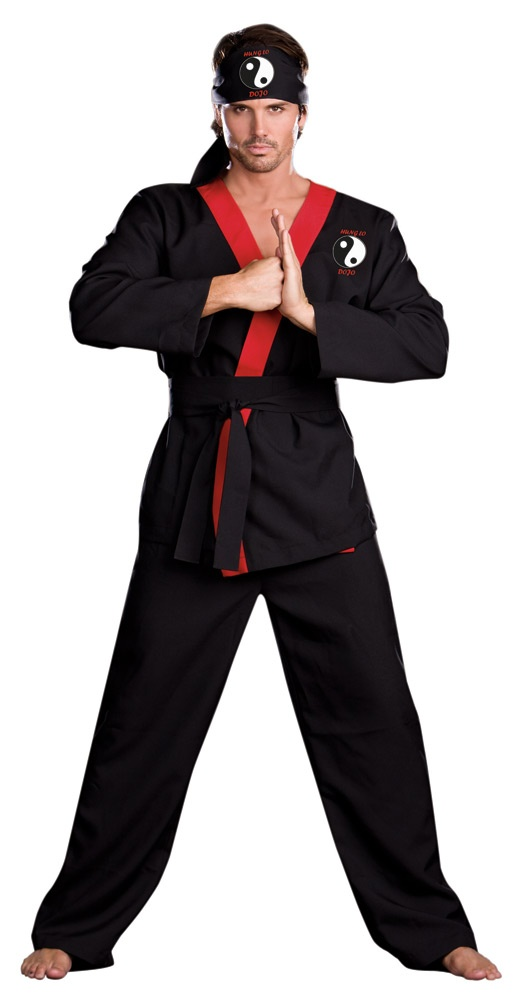 Hung Lo Mens Ninja Costume