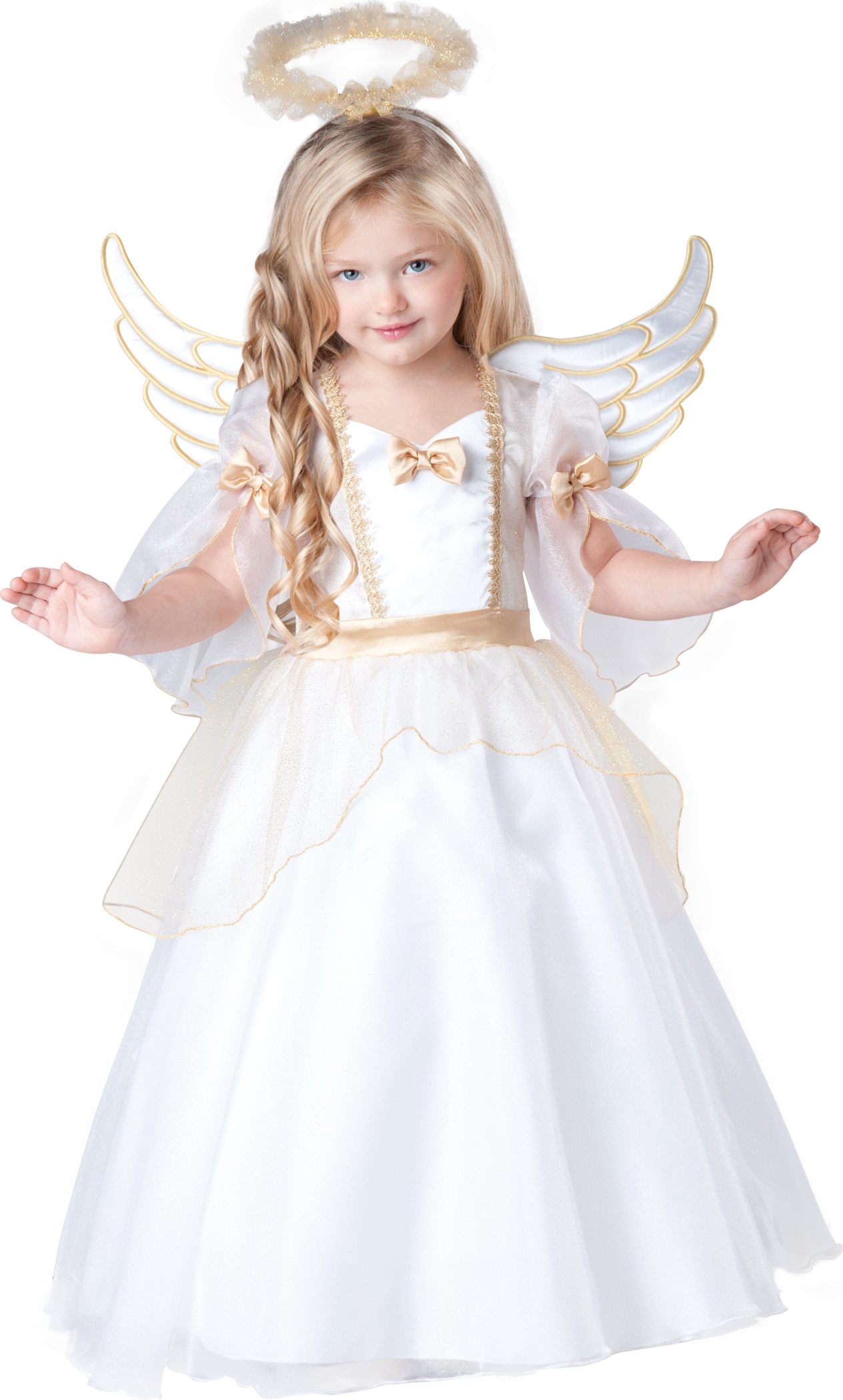 Angelic angel toddler kids costume mr costumes - Disfraz de angelito para nina ...