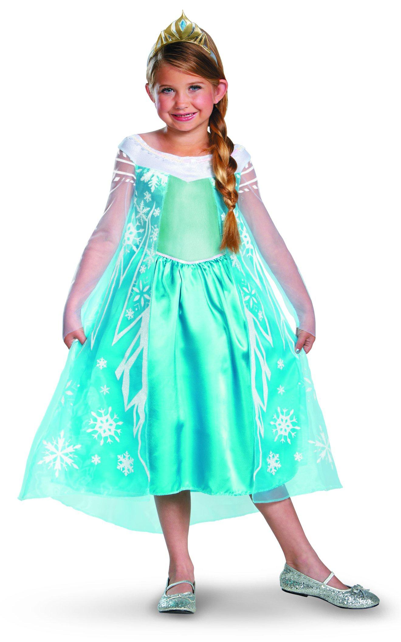 disney frozen elsa kids costume