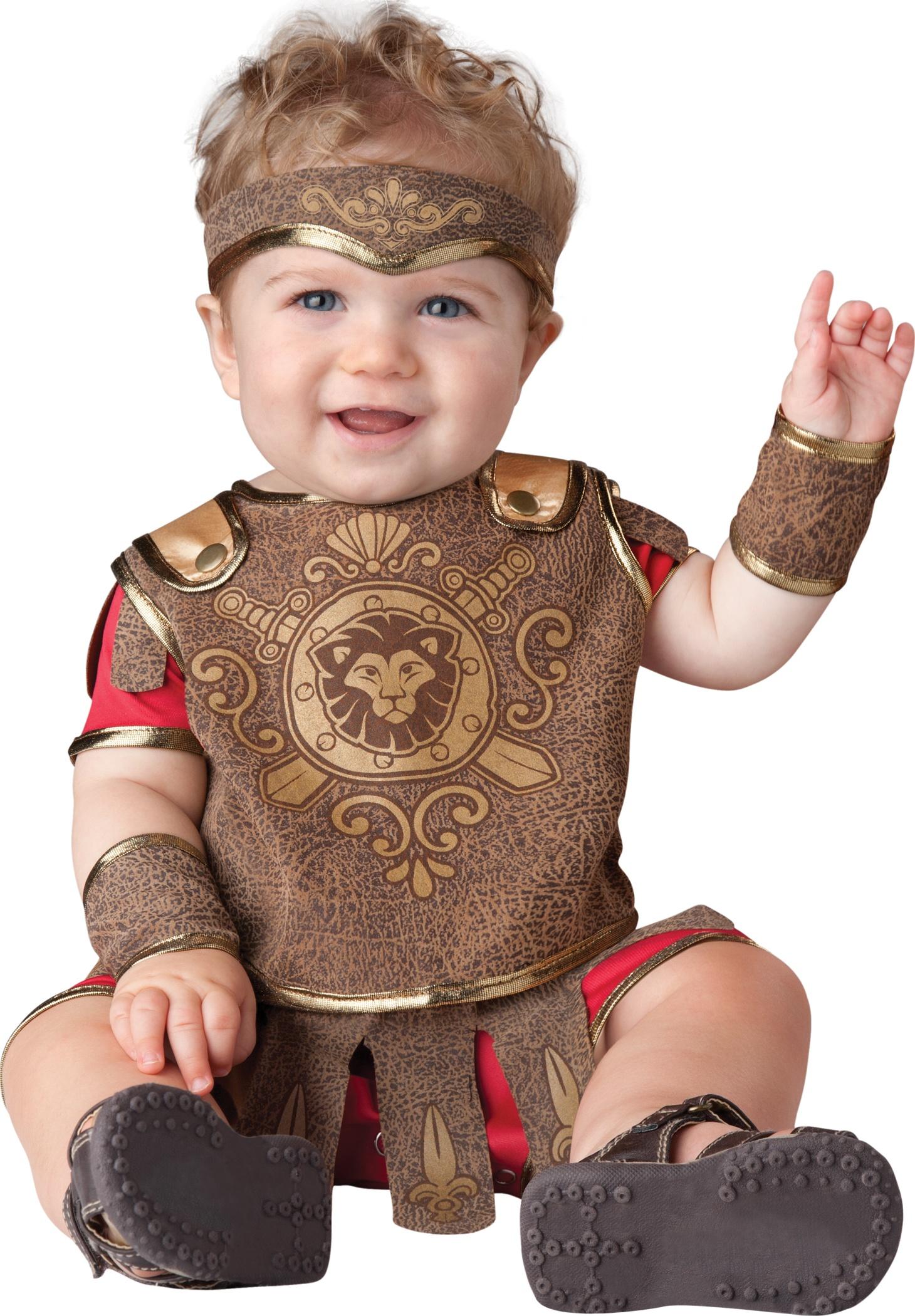 Giddy gladiator baby costume mr costumes - Disfraz para bebes ...