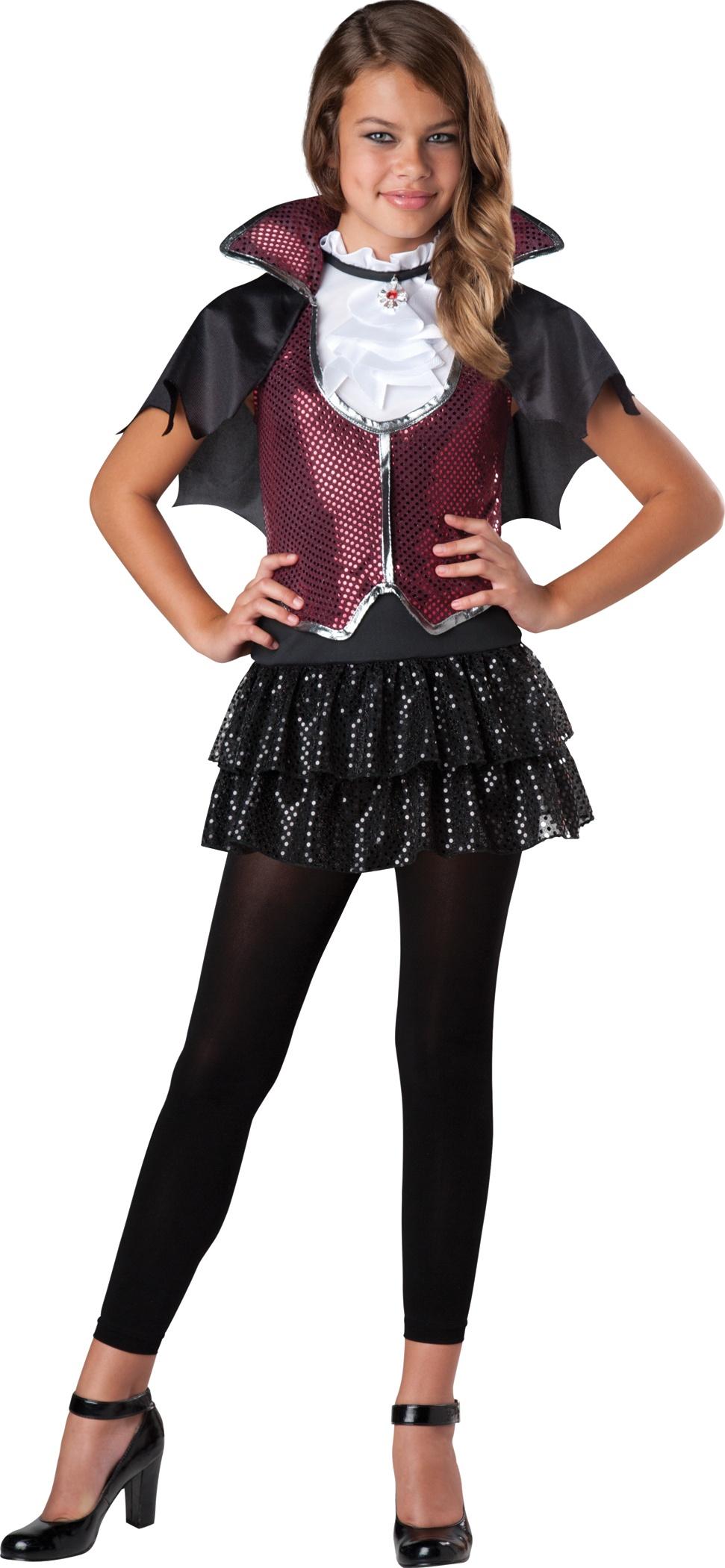 Glampiress Vampiress Kids Costume Costumes