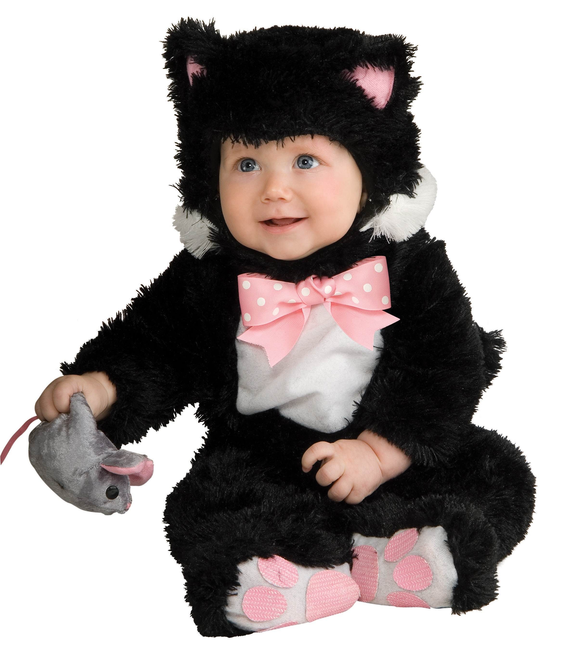 Sneaky Black Kitty Cat Baby Costume Costumes