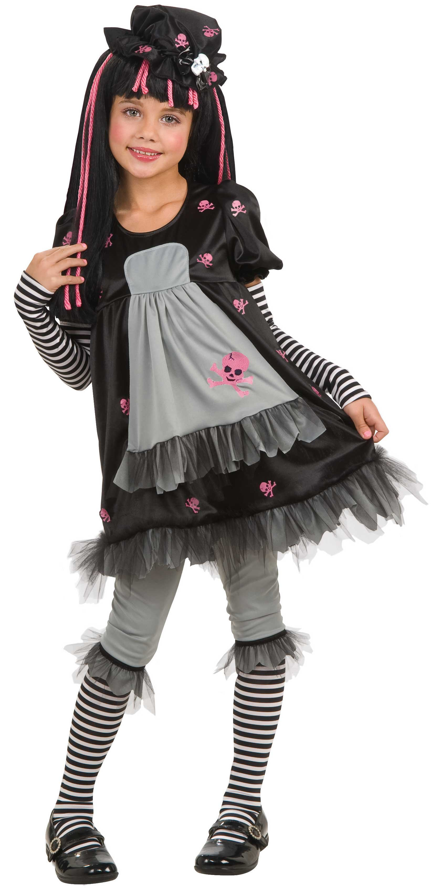 Doll Ista Gothic Kids Costume Costumes